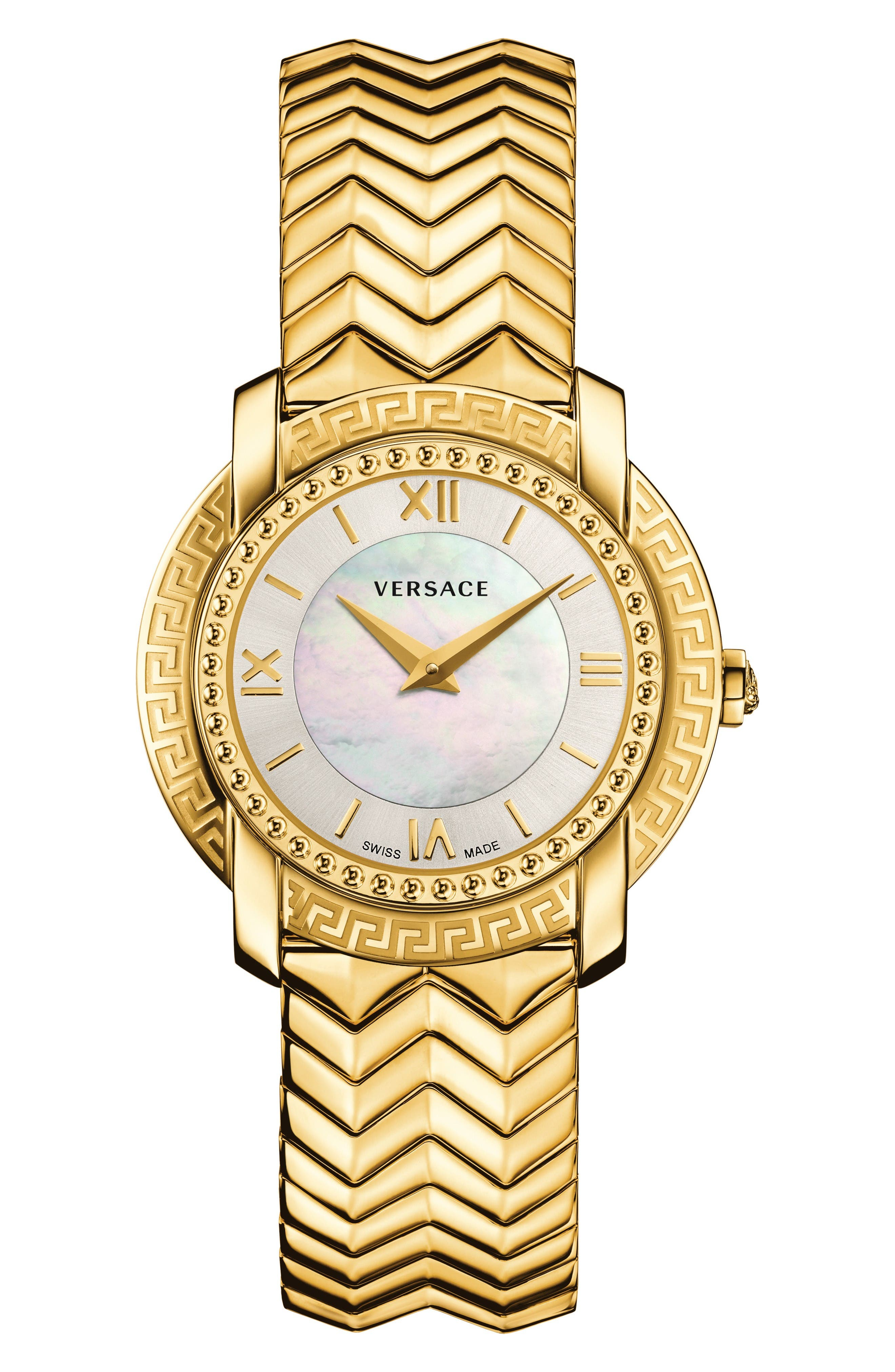 Main Image - Versace DV-25 Bracelet Watch, 36mm