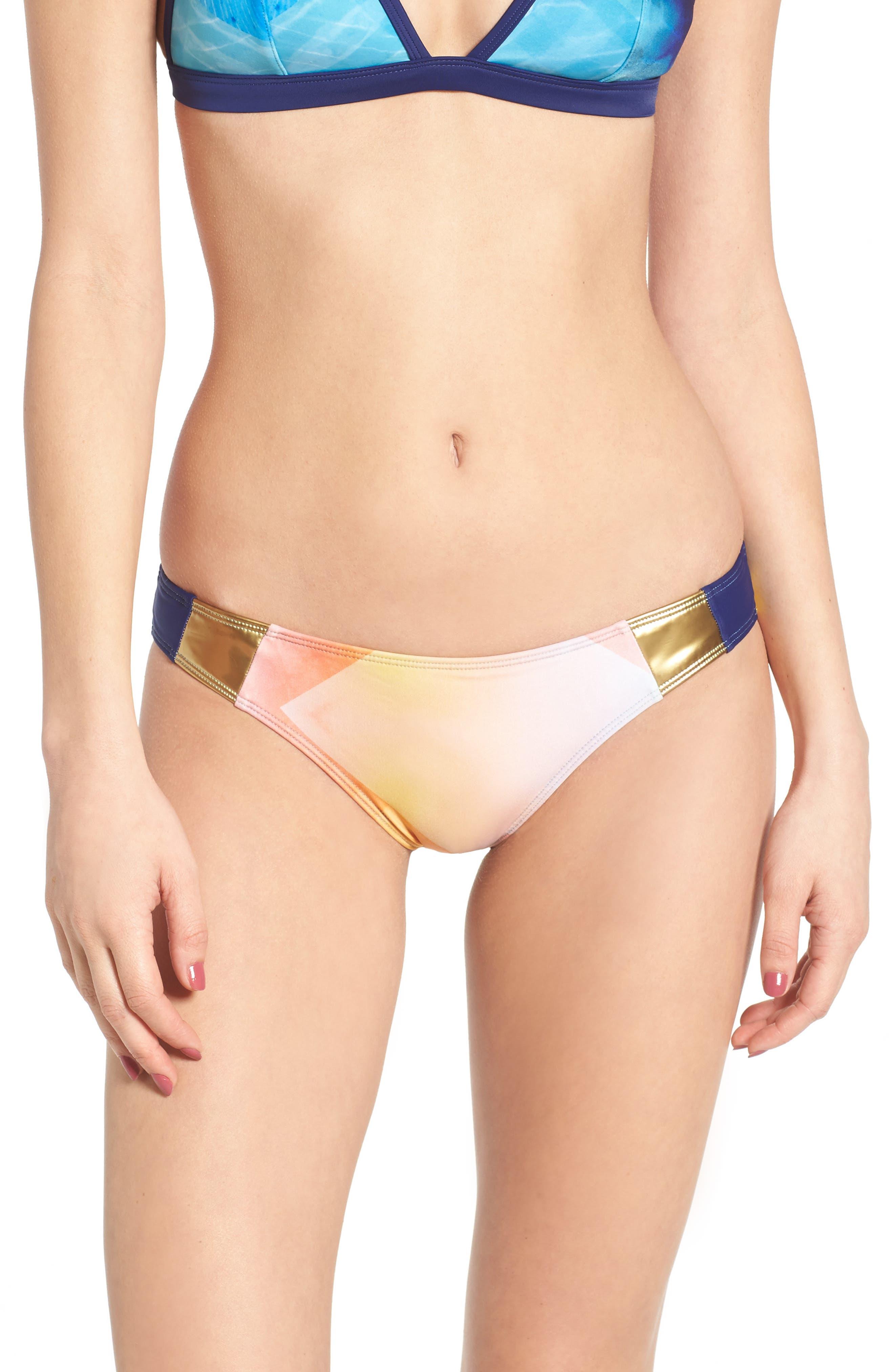 ROXY Pop Surf Mini Bikini Bottoms