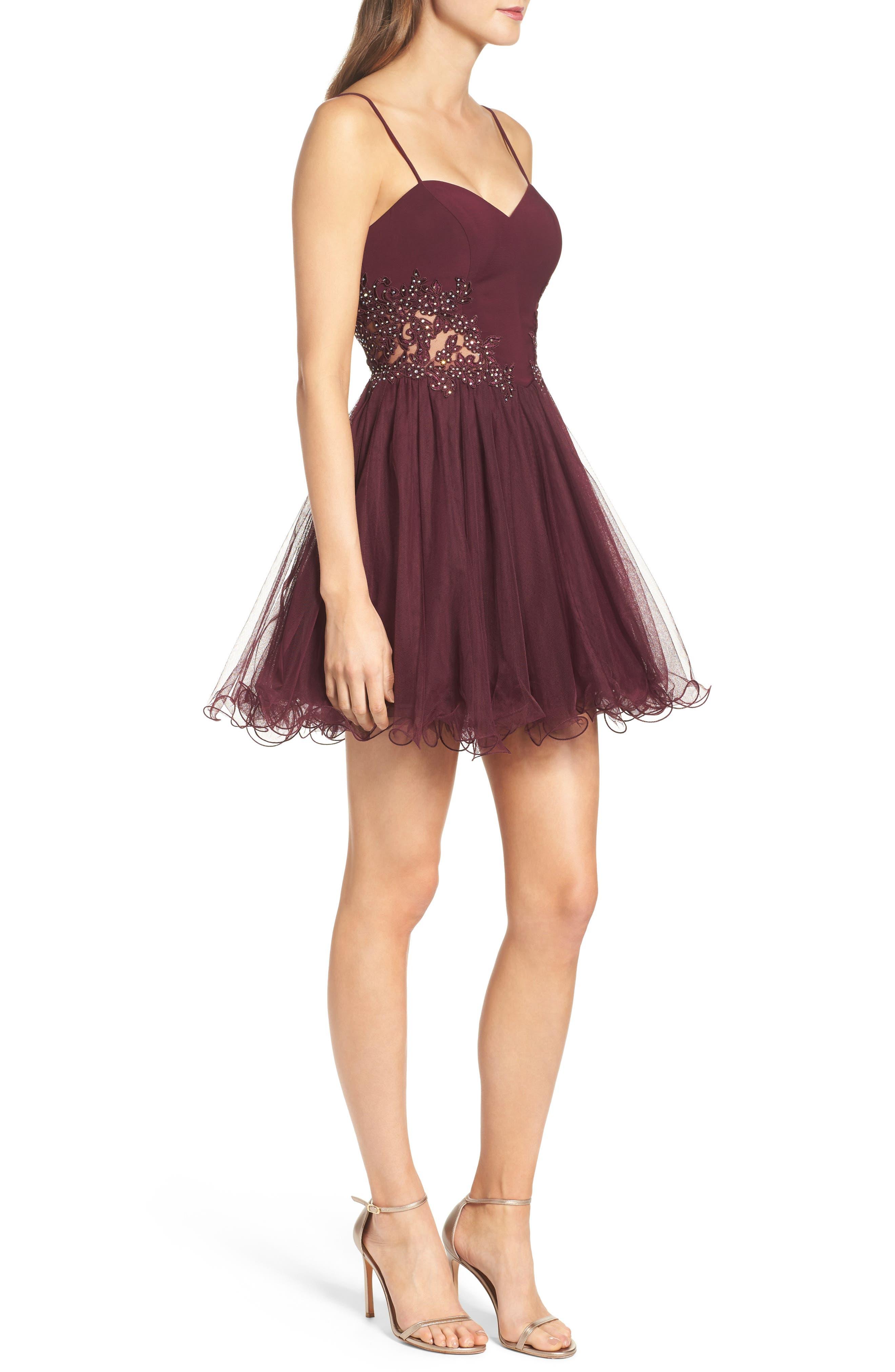 Alternate Image 3  - Blondie Nites Embellished Fit & Flare Dress