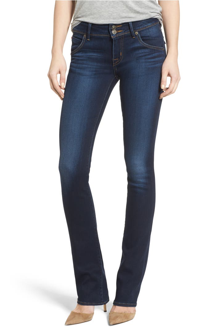 Hudson Jeans Beth Baby Bootcut Jeans Night Vision