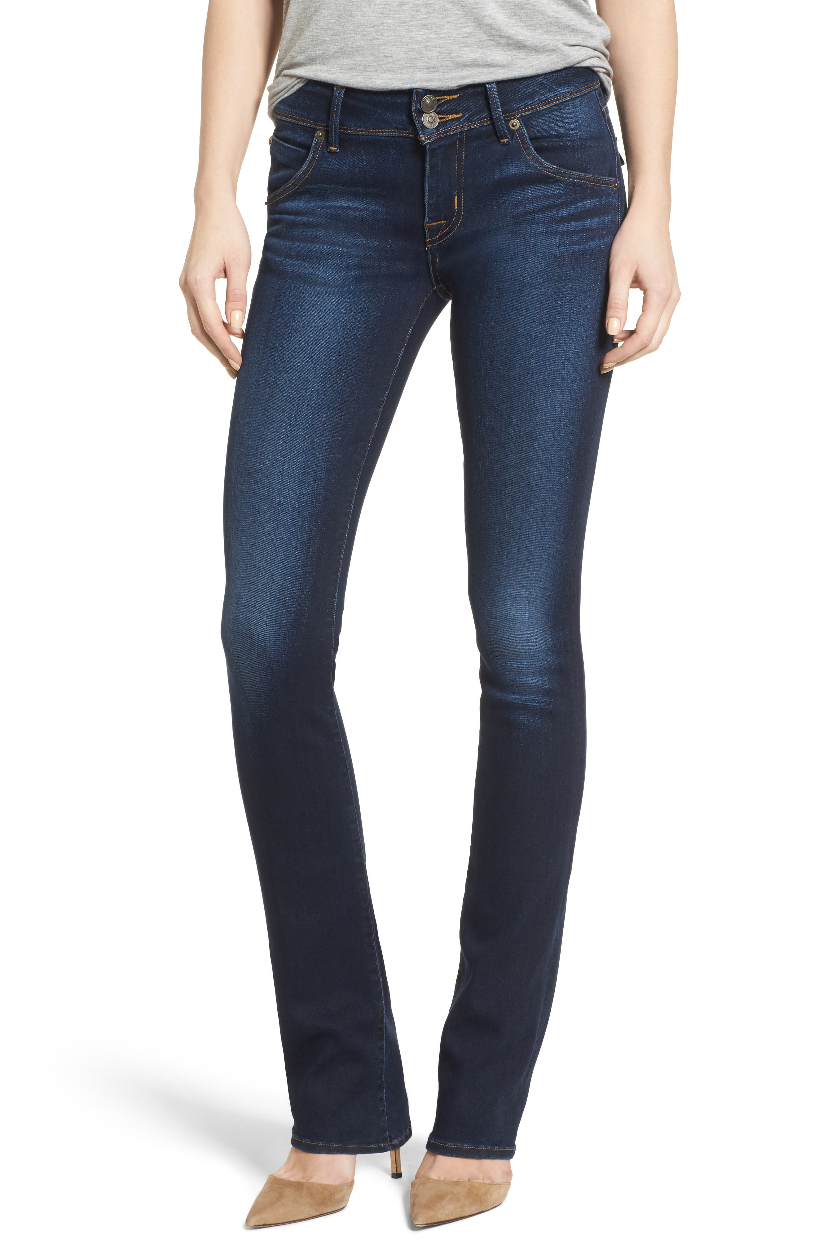 Hudson Jeans 'Beth' Baby Bootcut Jeans (Night Vision)