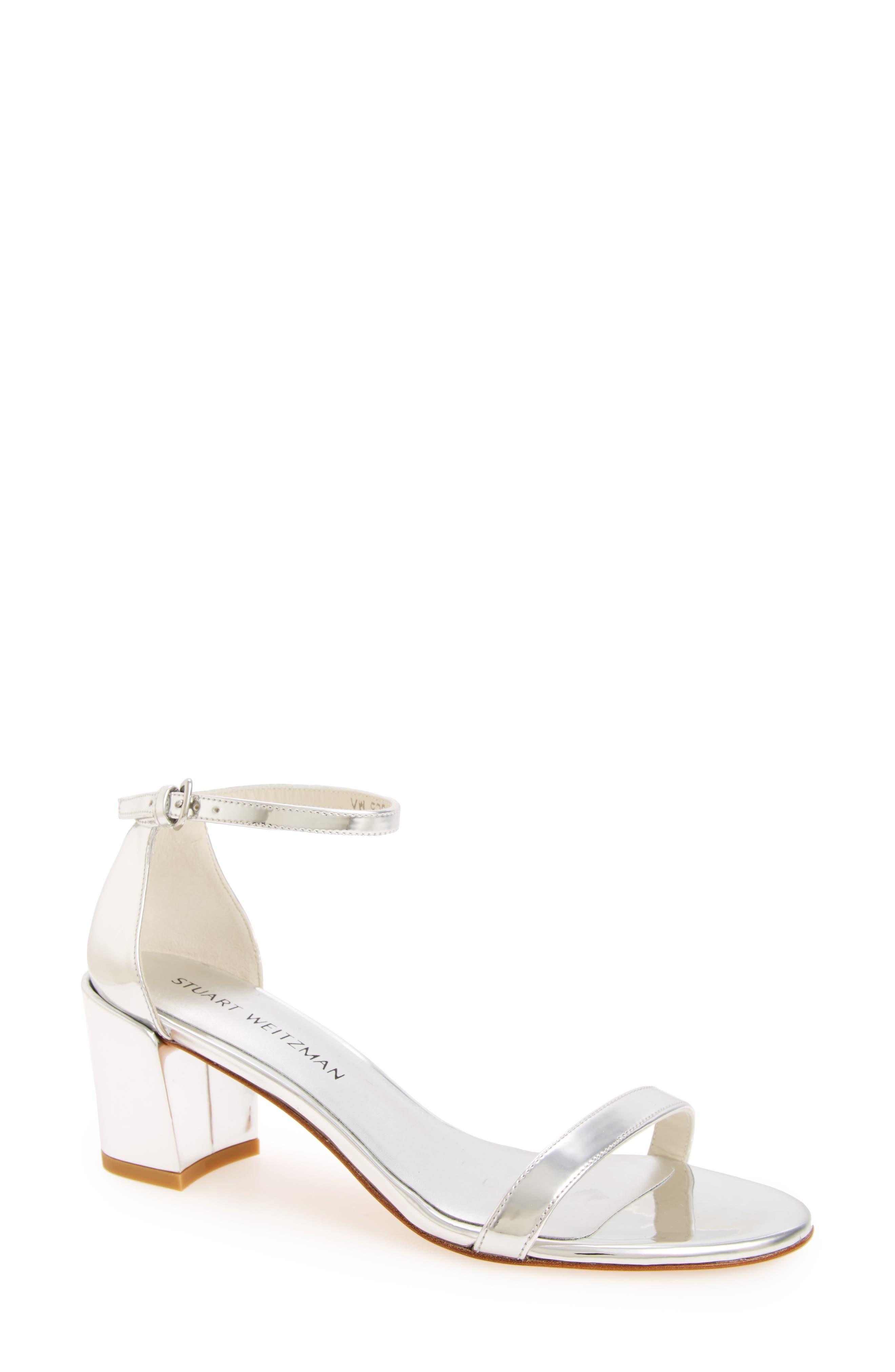 STUART WEITZMAN Simple Ankle Strap Sandal