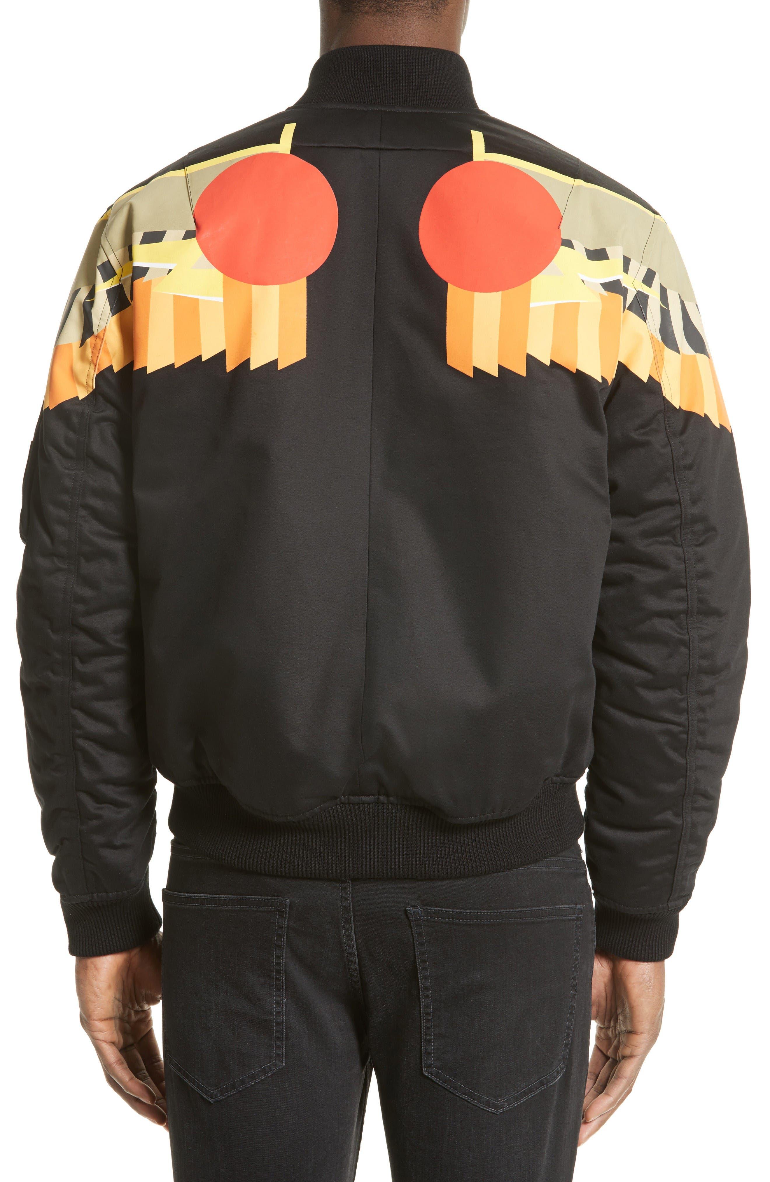 Alternate Image 2  - Givenchy Wing Print Bomber Jacket