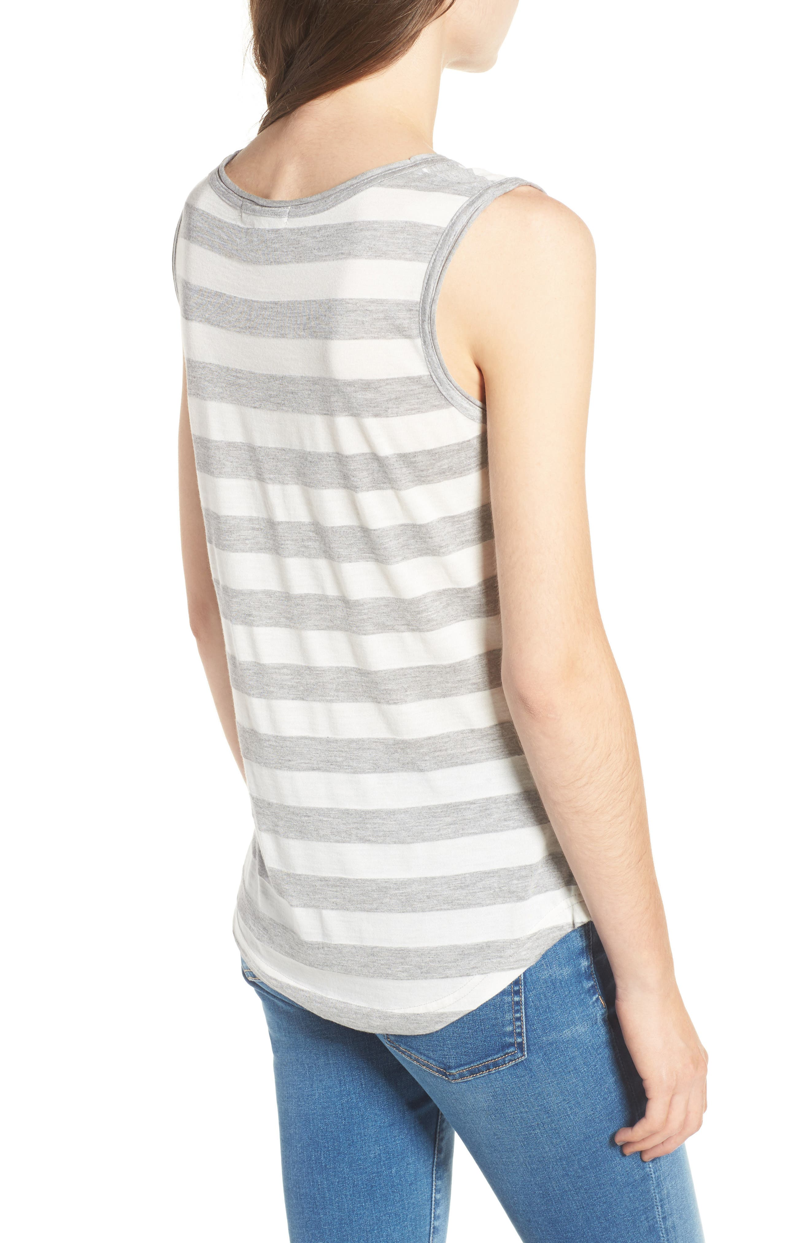 Alternate Image 2  - Barbour Trytone Jersey Tank