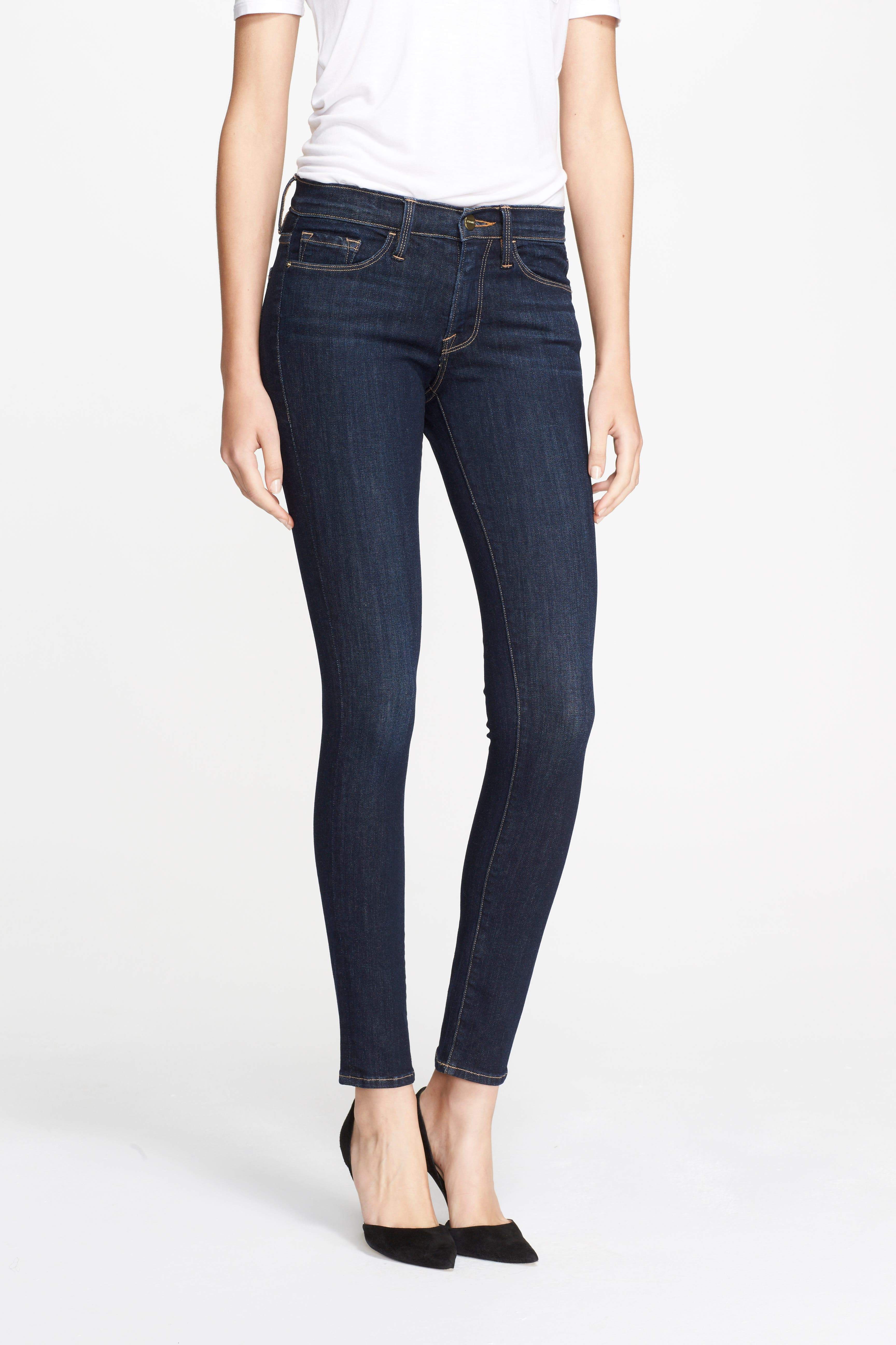 Alternate Image 1 Selected - FRAME 'Le Skinny de Jeanne' Jeans (Queensway)
