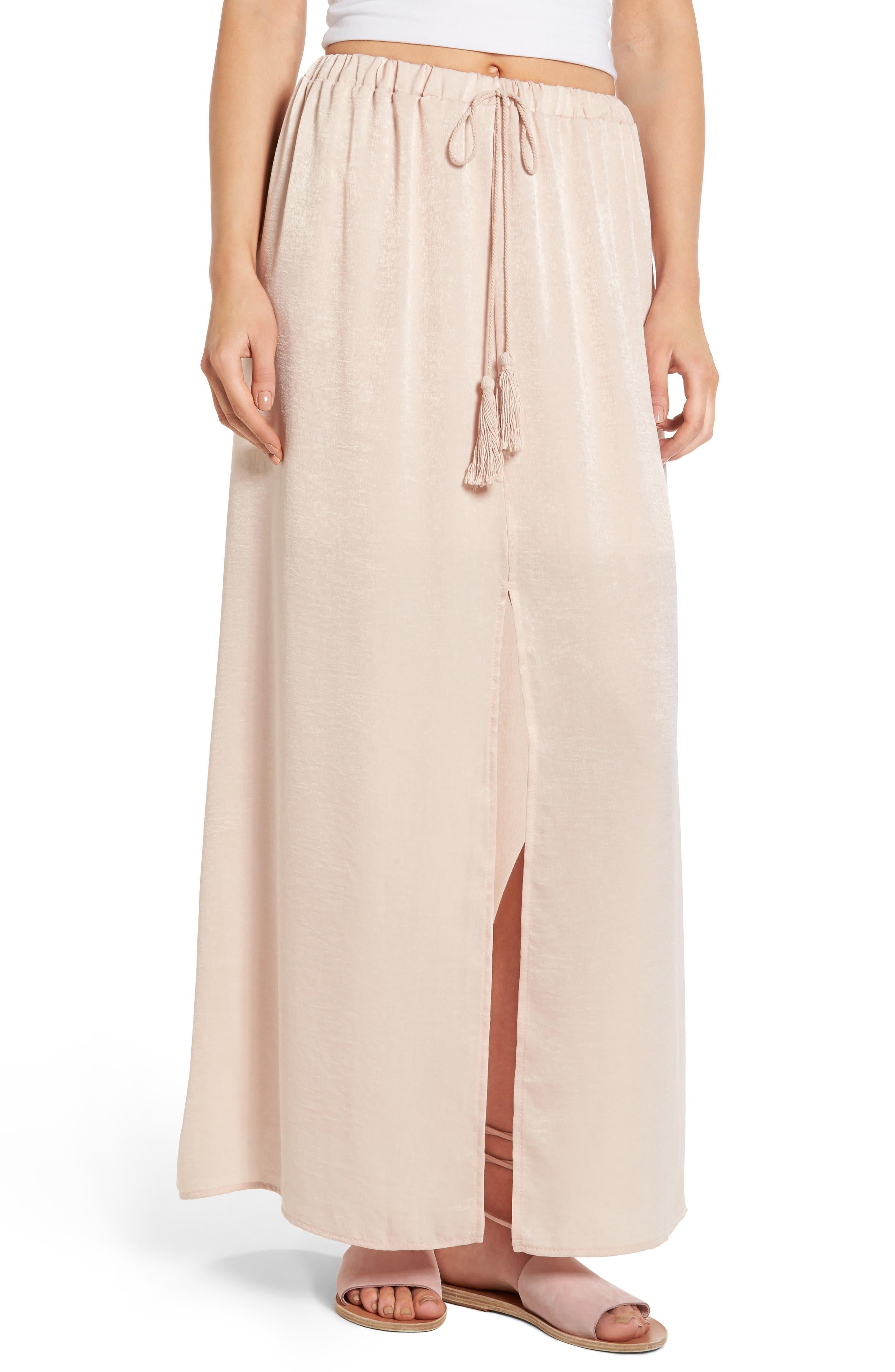 Alternate Image 1 Selected - Sun & Shadow Maxi Skirt