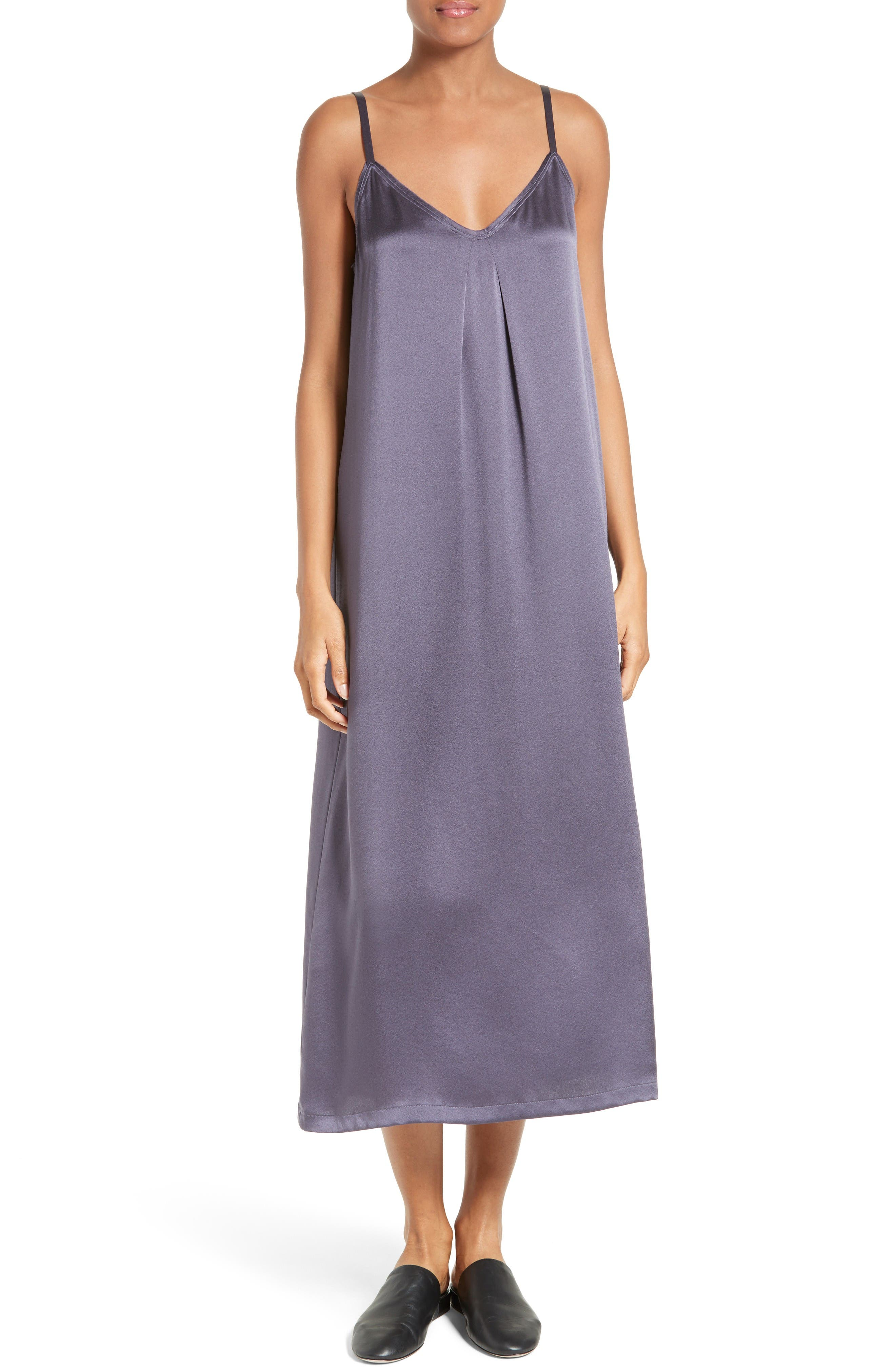 Vince Silk Midi Slipdress