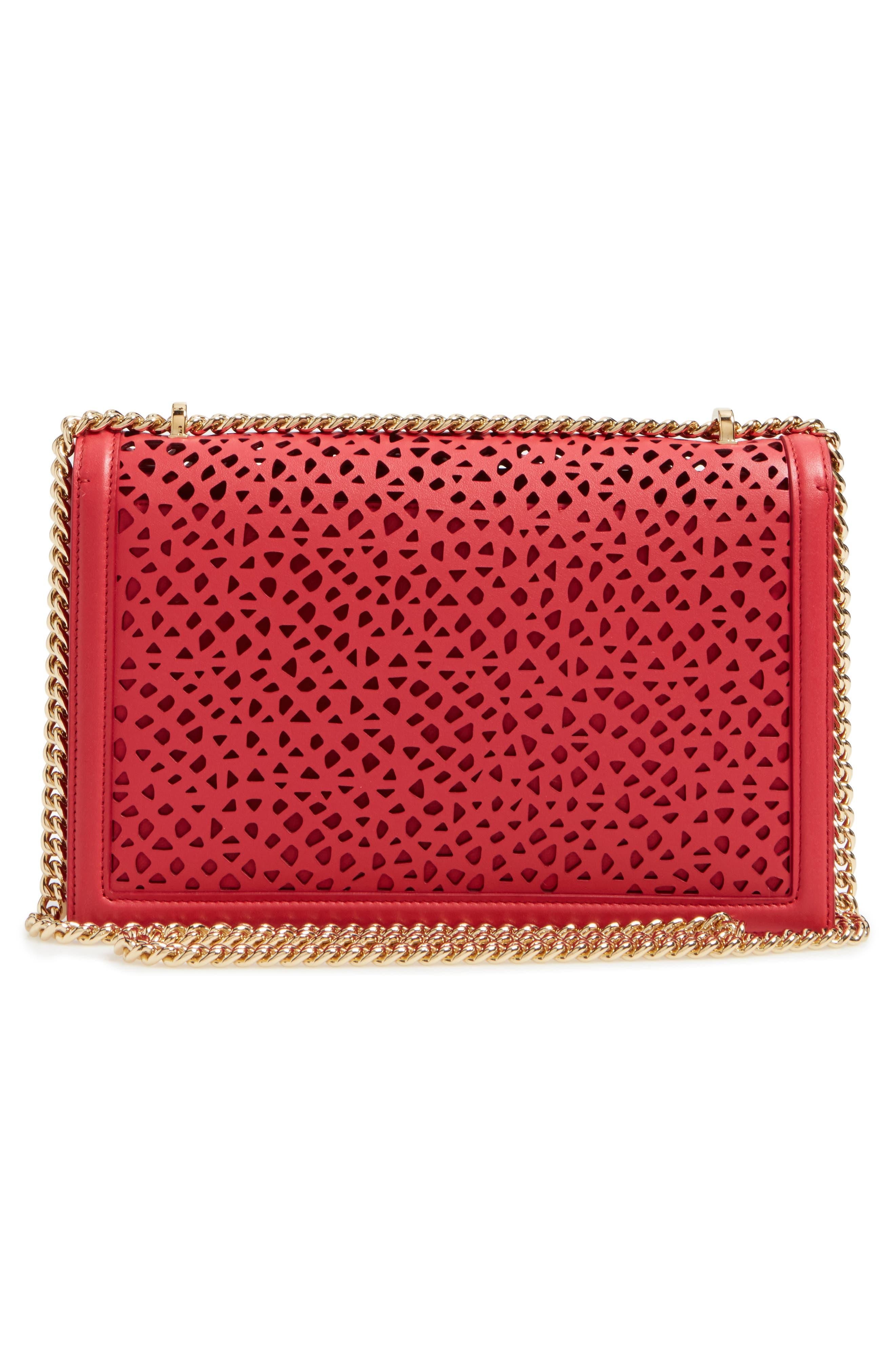 Alternate Image 2  - Salvatore Ferragamo Medium Ginny Leather Shoulder Bag