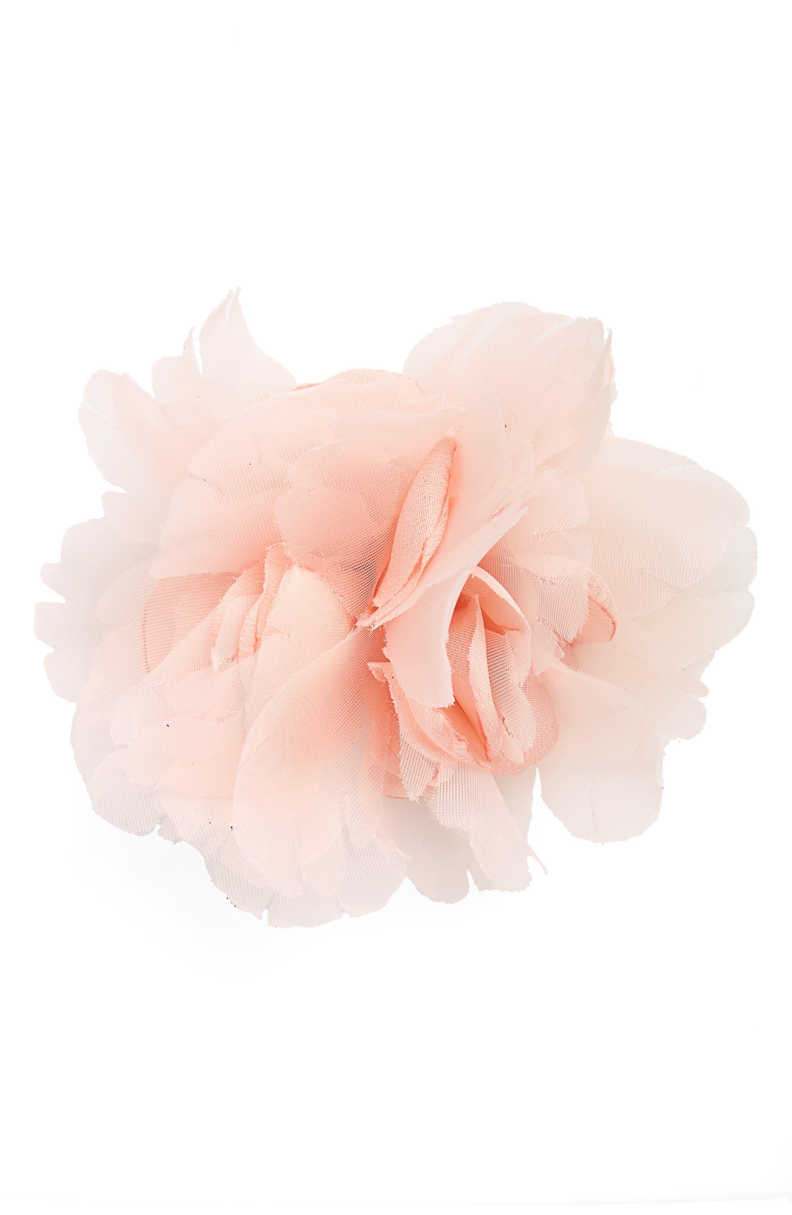 CARA Organza Flower Pin