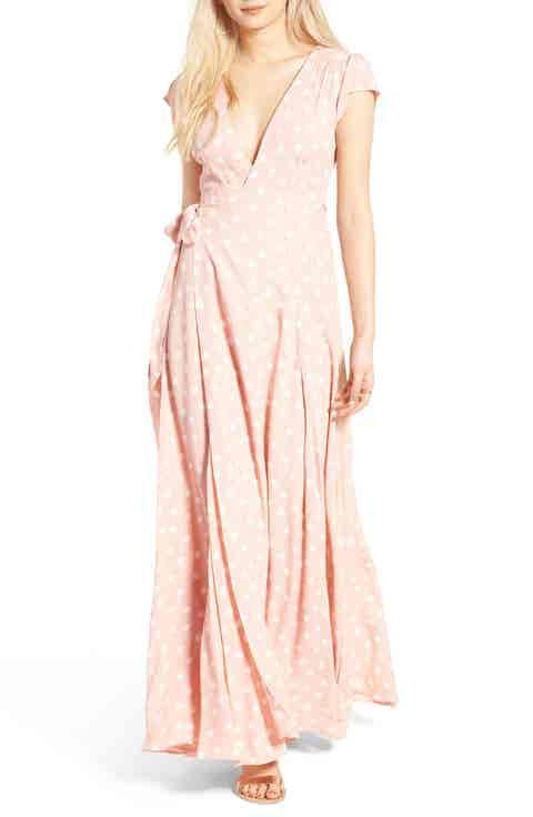 Tularosa Sid Wrap Maxi Dress (Nordstrom Exclusive)