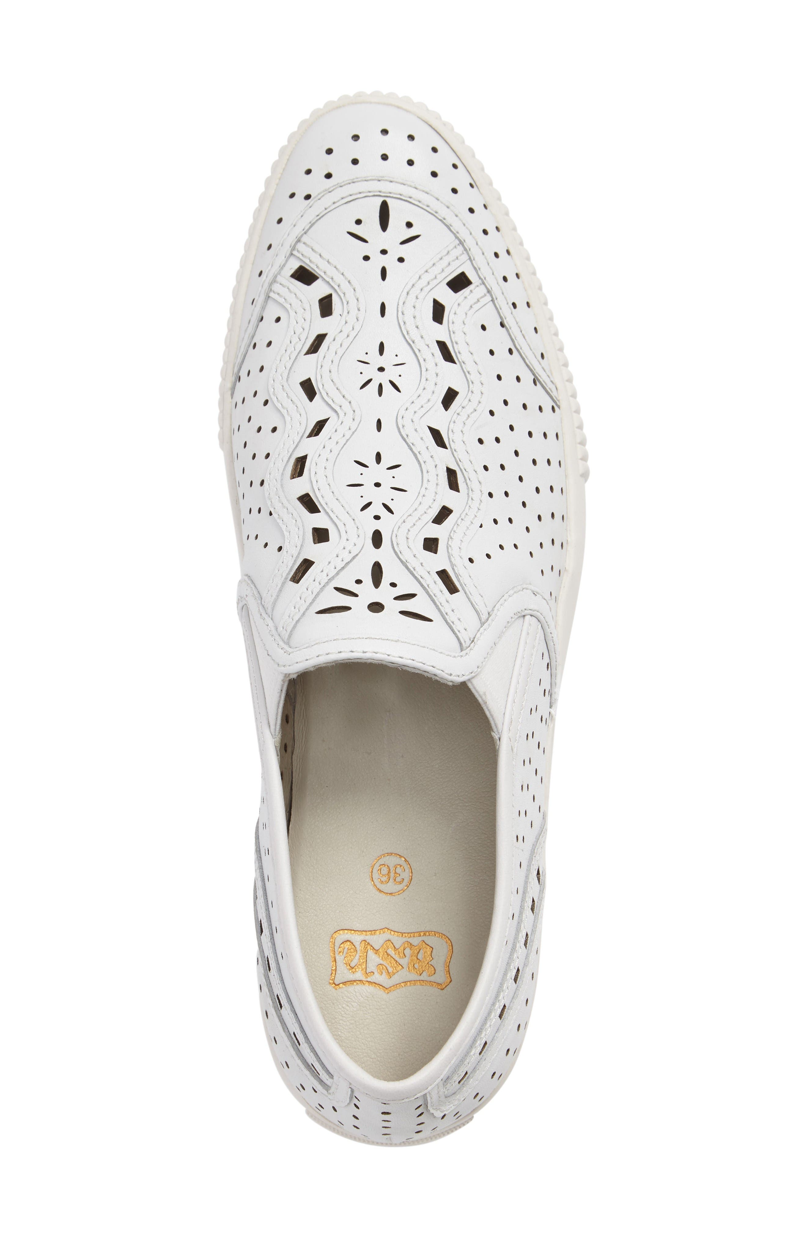 Alternate Image 3  - Ash Kingston Perforated Platform Sneaker (Women)