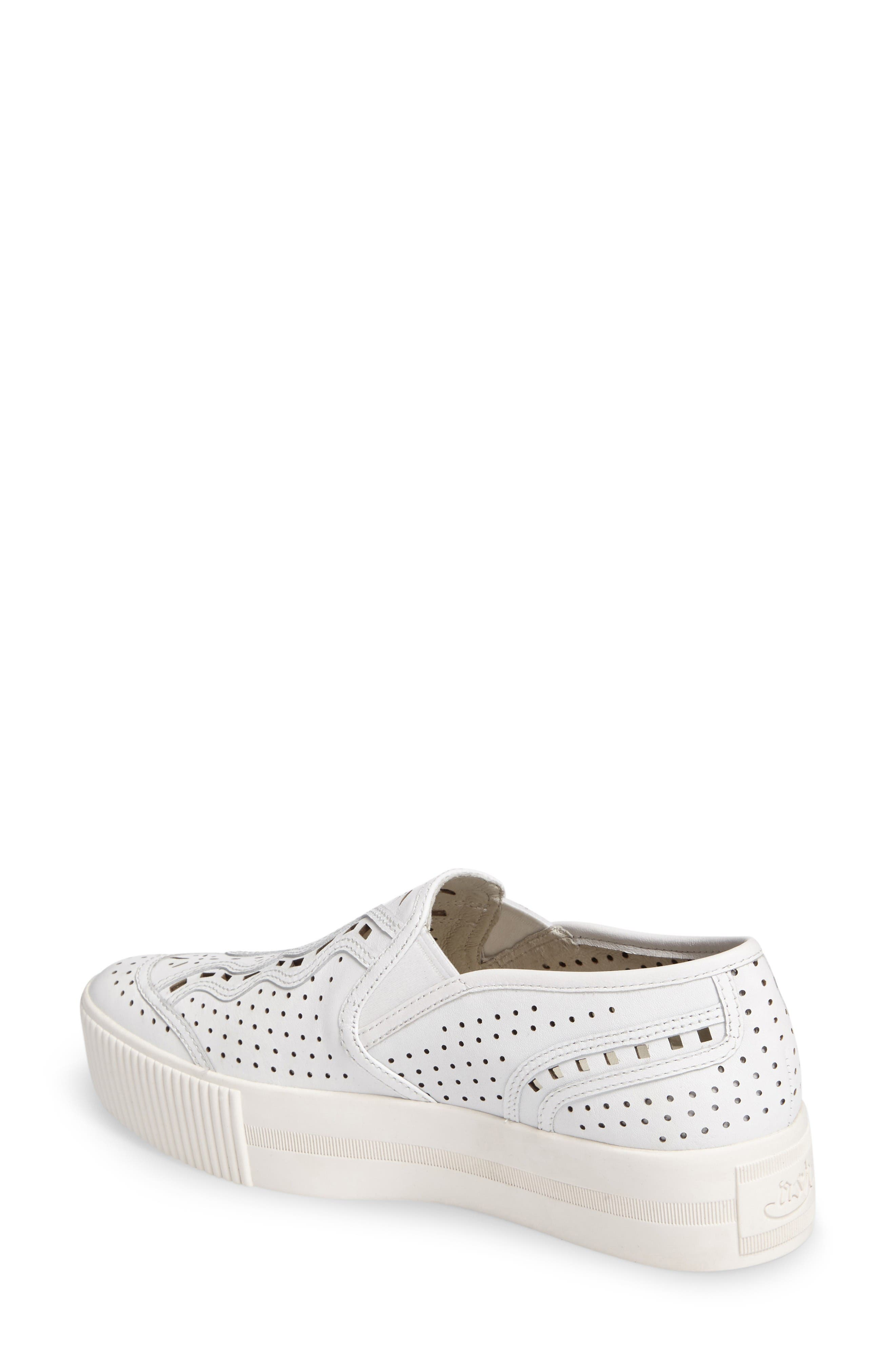 Alternate Image 2  - Ash Kingston Perforated Platform Sneaker (Women)