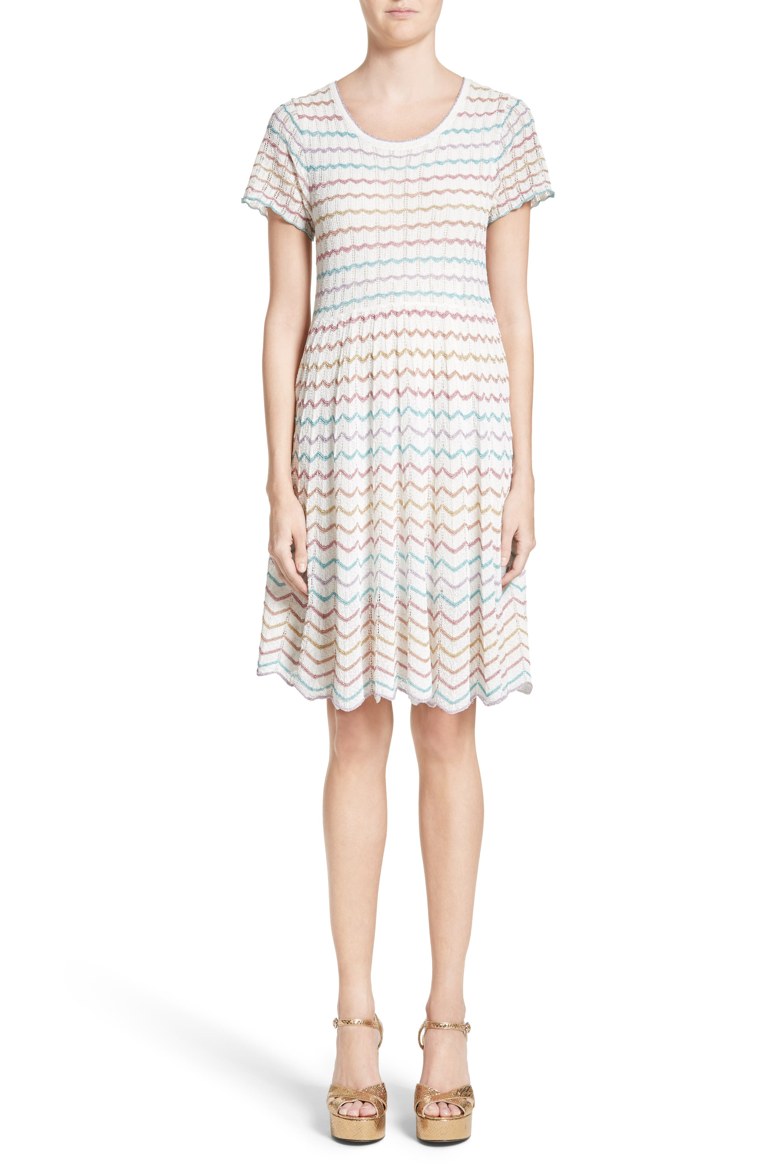 Main Image - MARC JACOBS Knit Babydoll Dress