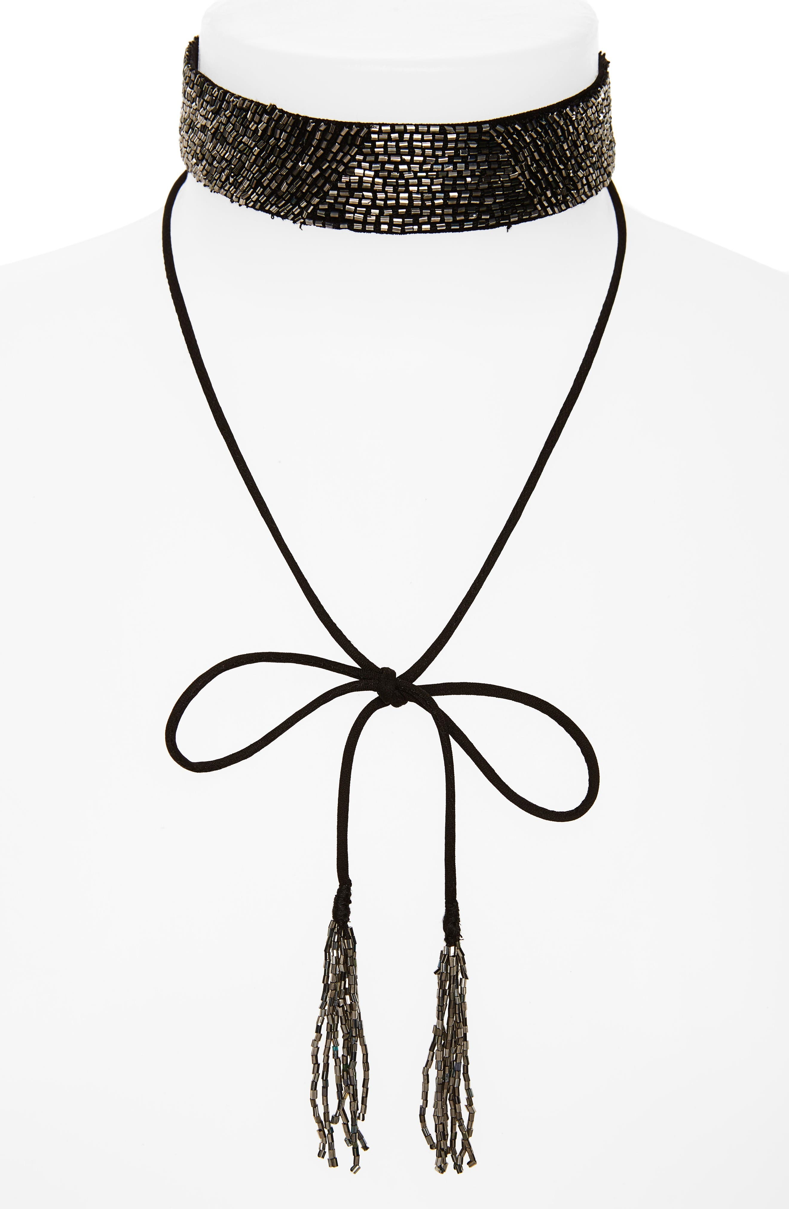 Alternate Image 1 Selected - New Friends Colony Beaded Choker