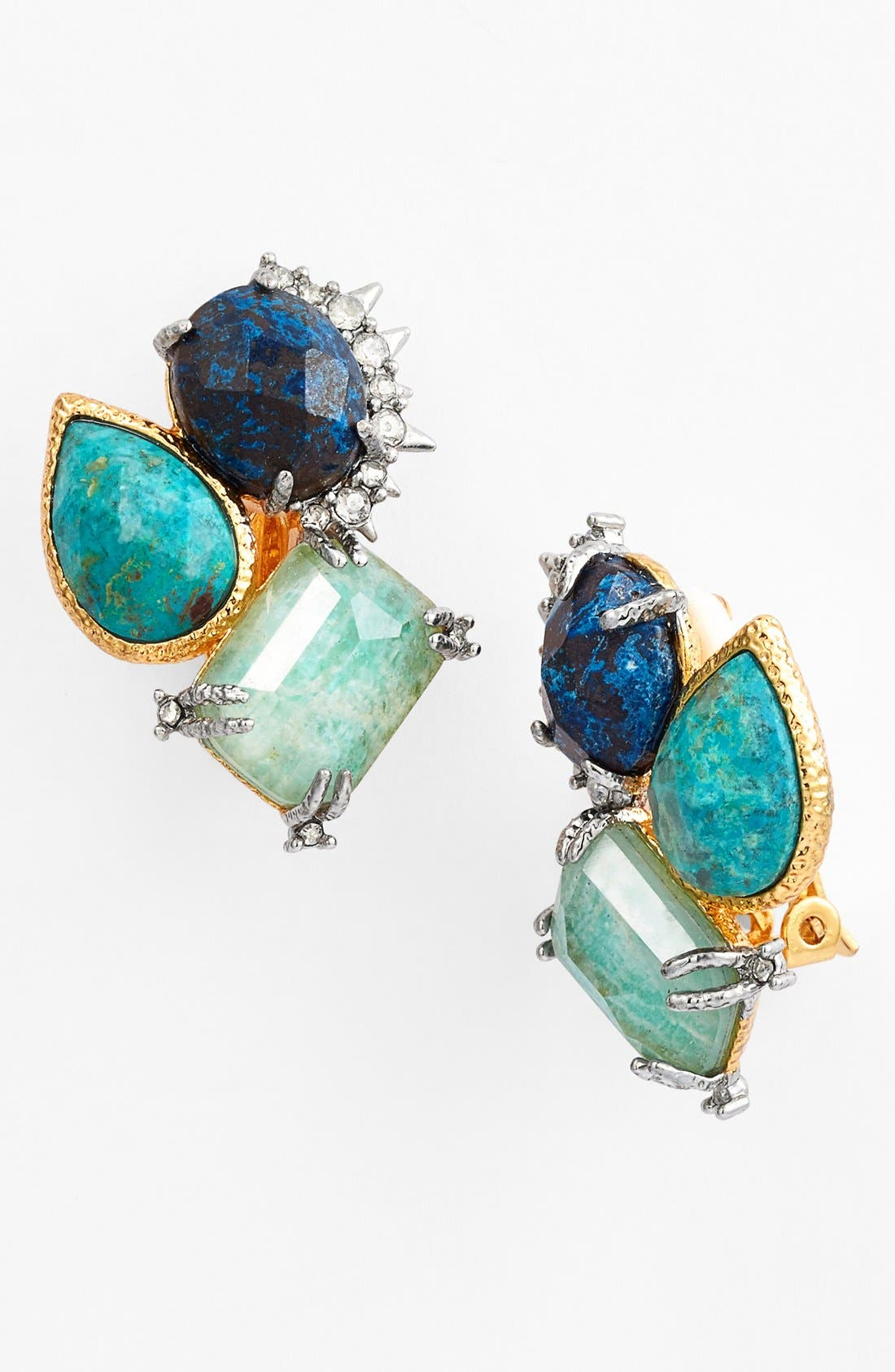Alternate Image 1 Selected - Alexis Bittar 'Elements - Muse d'Or' Cluster Clip Earrings