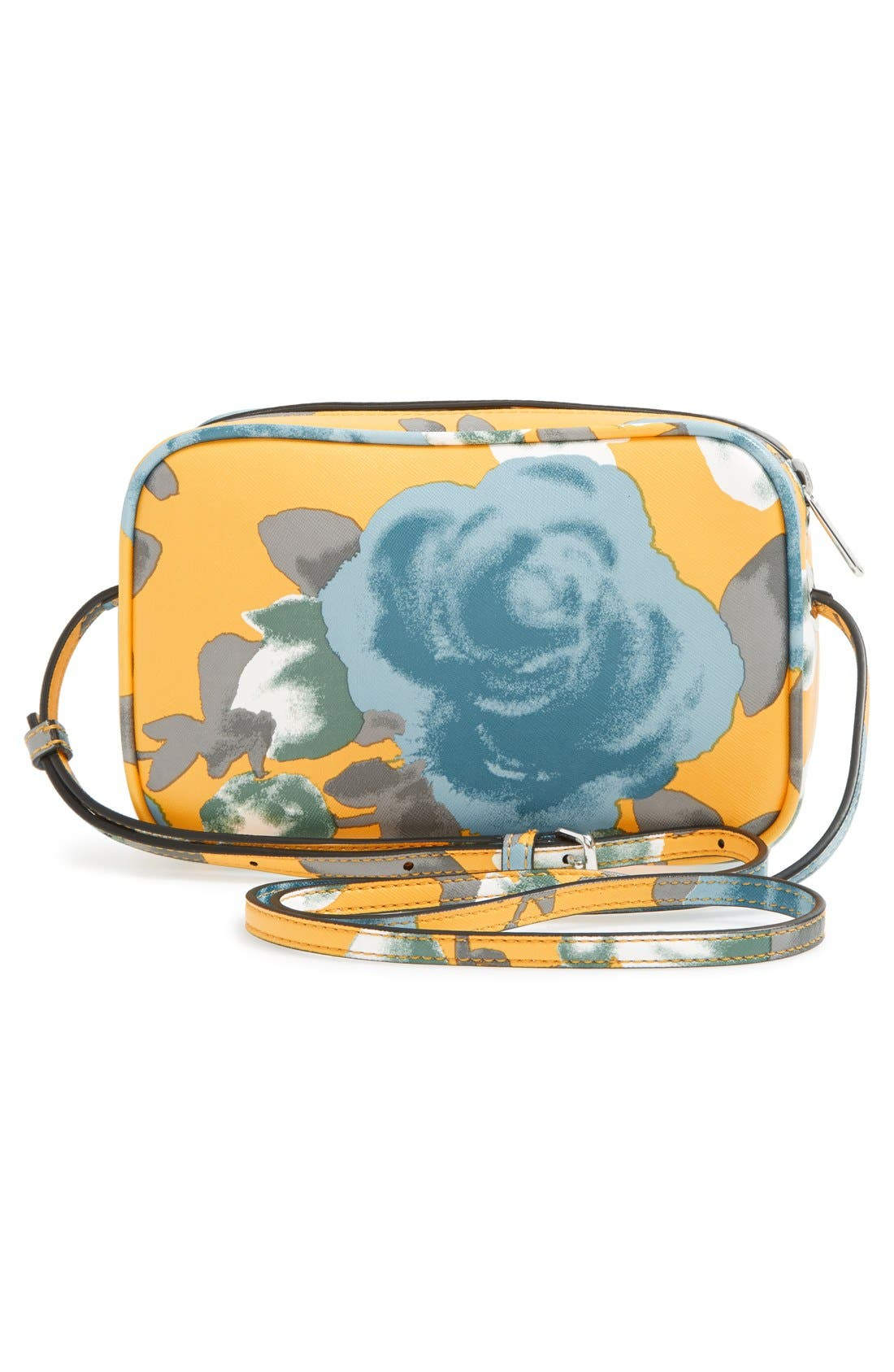 Alternate Image 6  - MARC BY MARC JACOBS 'Jerrie Rose - Sally' Flower Print Crossbody Bag