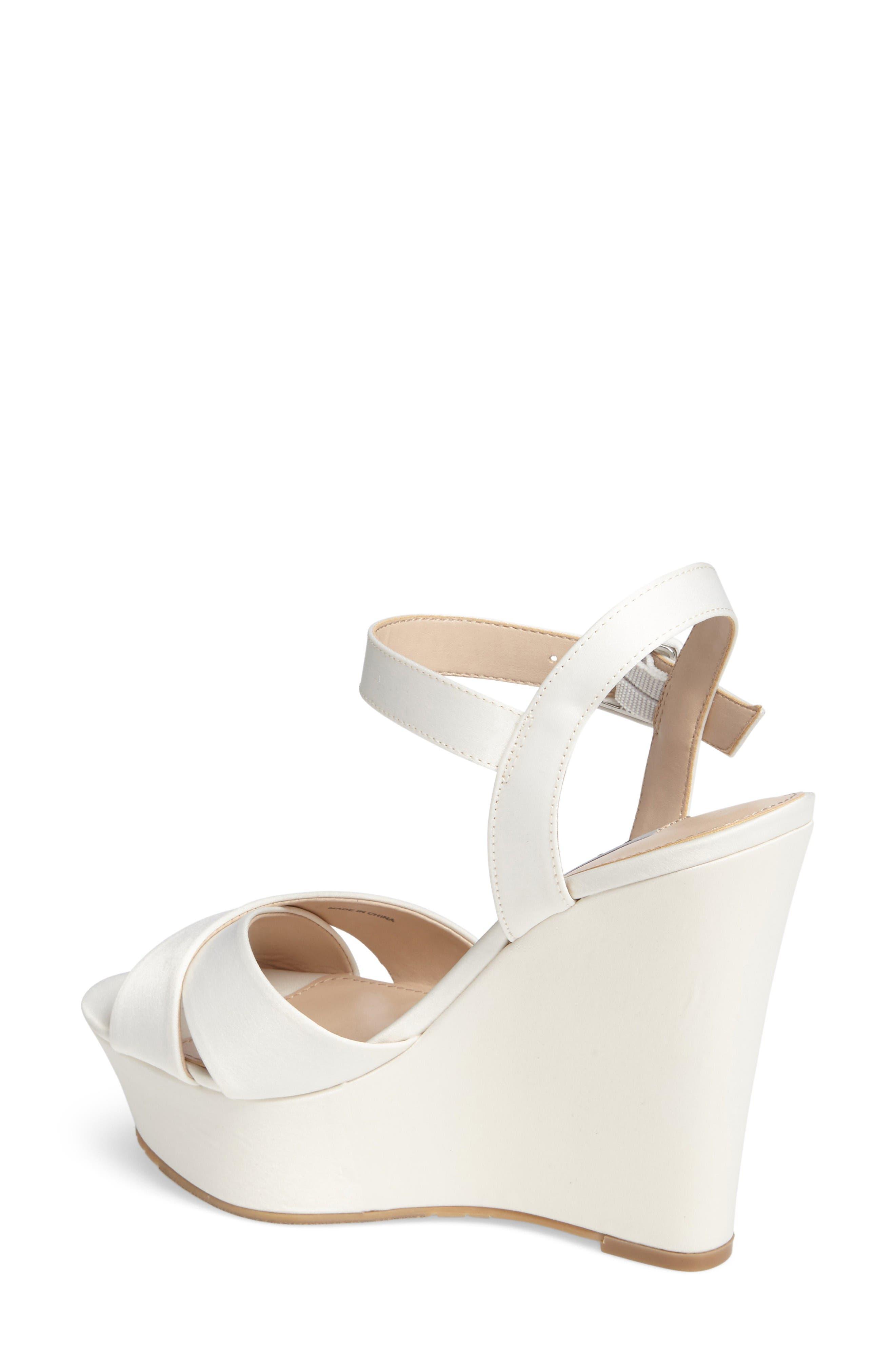 Alternate Image 2  - Nina Jinjer Platform Wedge Sandal (Women)