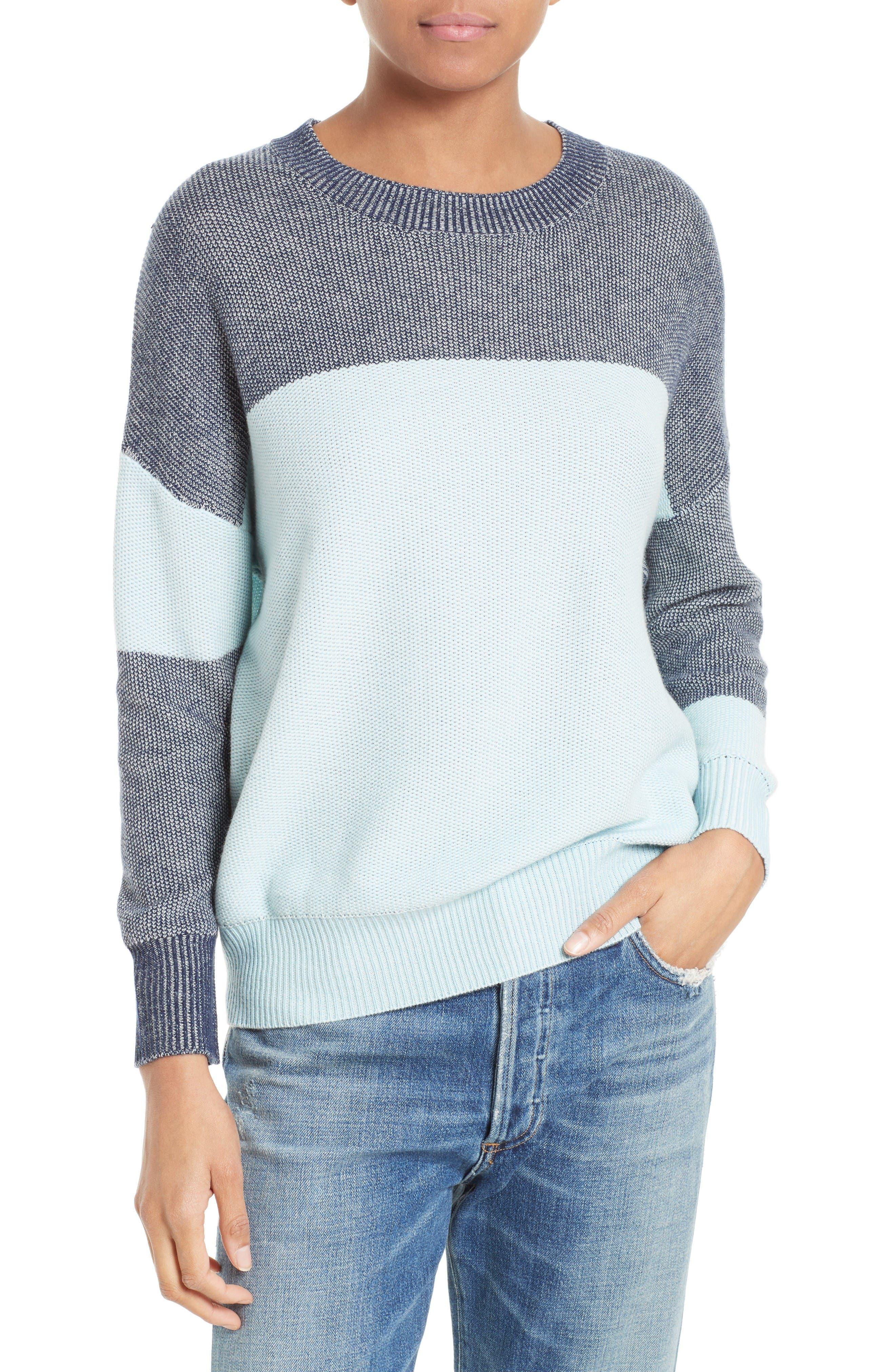 Equipment Melanie Colorblock Sweater