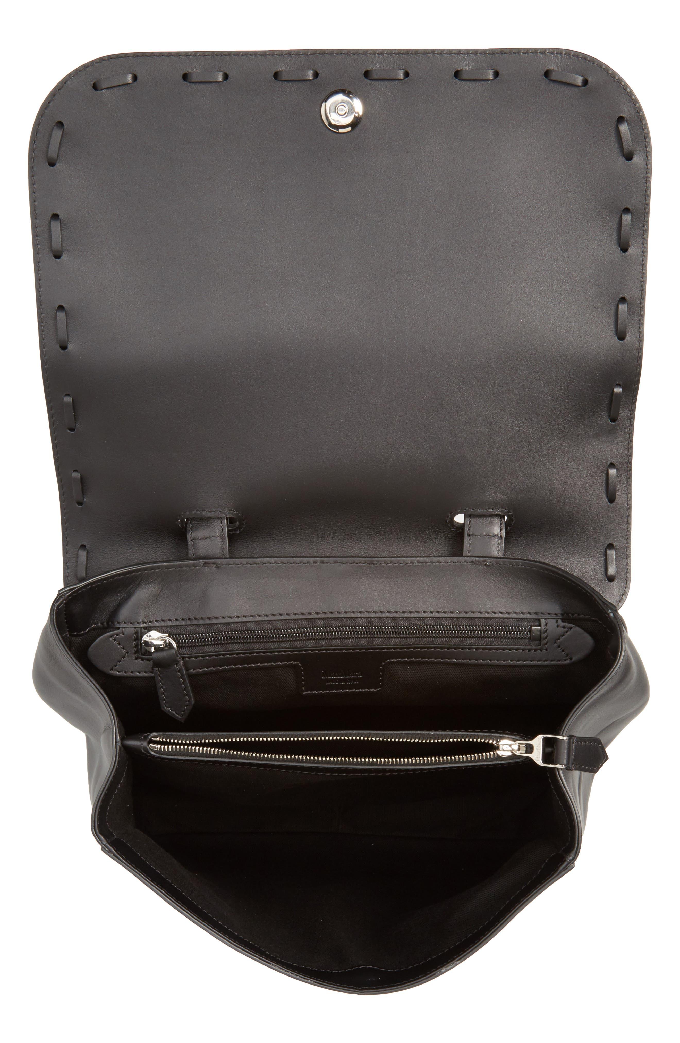 Alternate Image 4  - Max Mara BoBag Leather Satchel