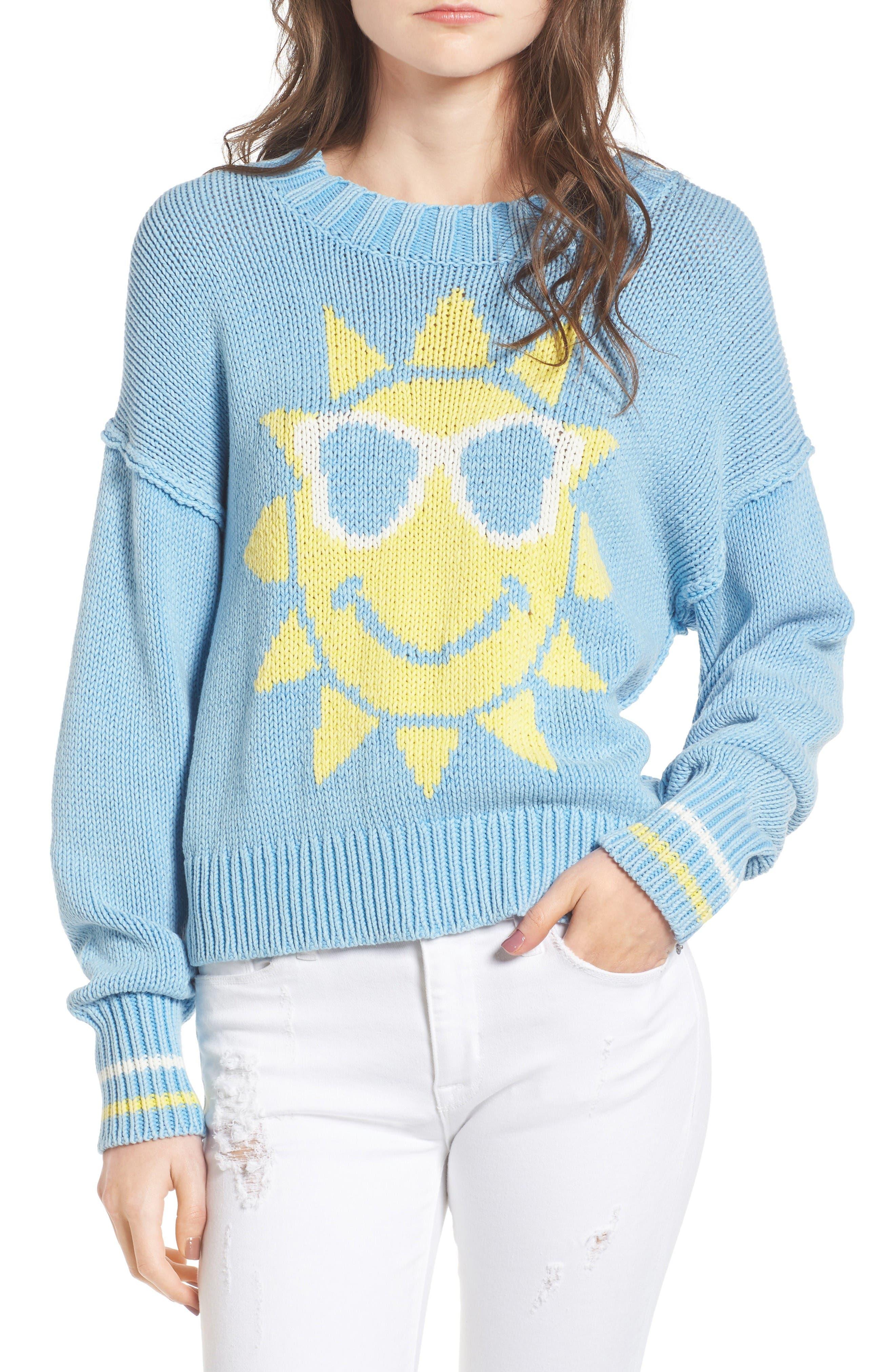 Wildfox Hello Sunshine Pullover Sweater
