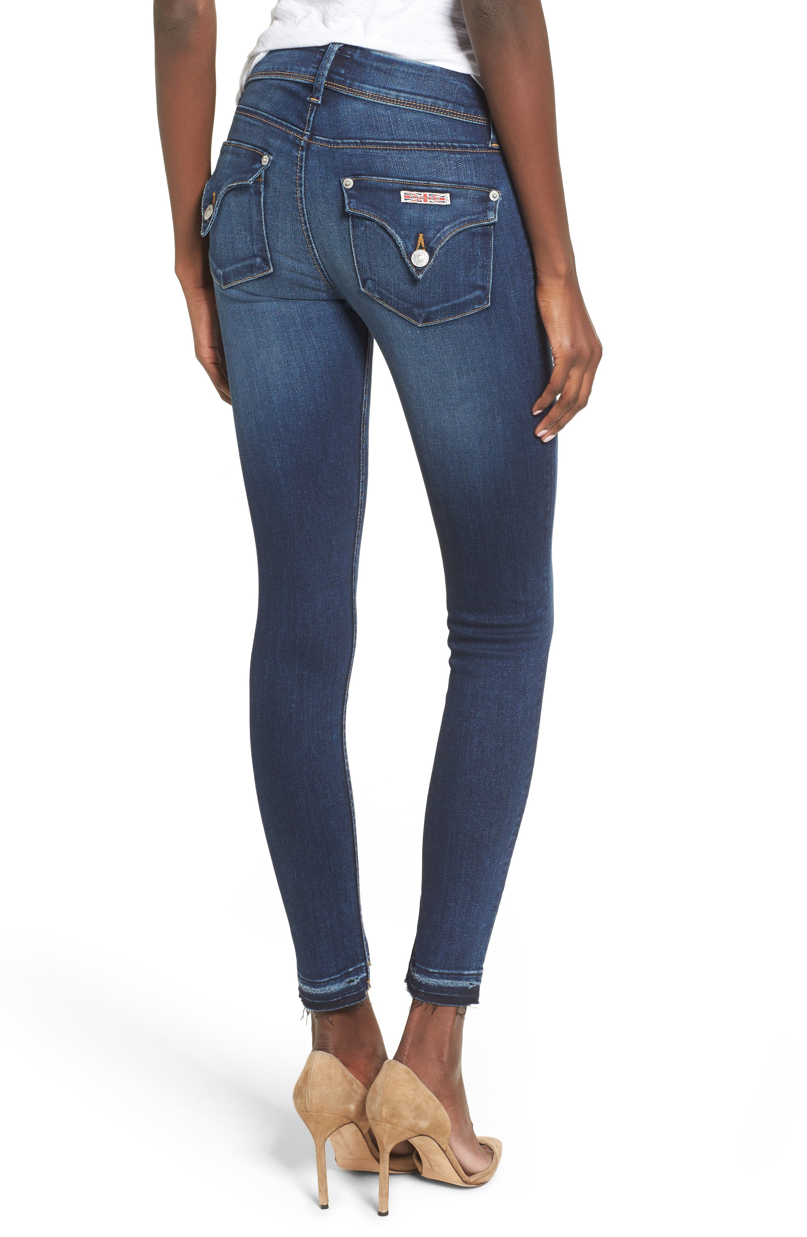 Alternate Image 2  - Hudson Jeans Collin Skinny Jeans (Pin Point)