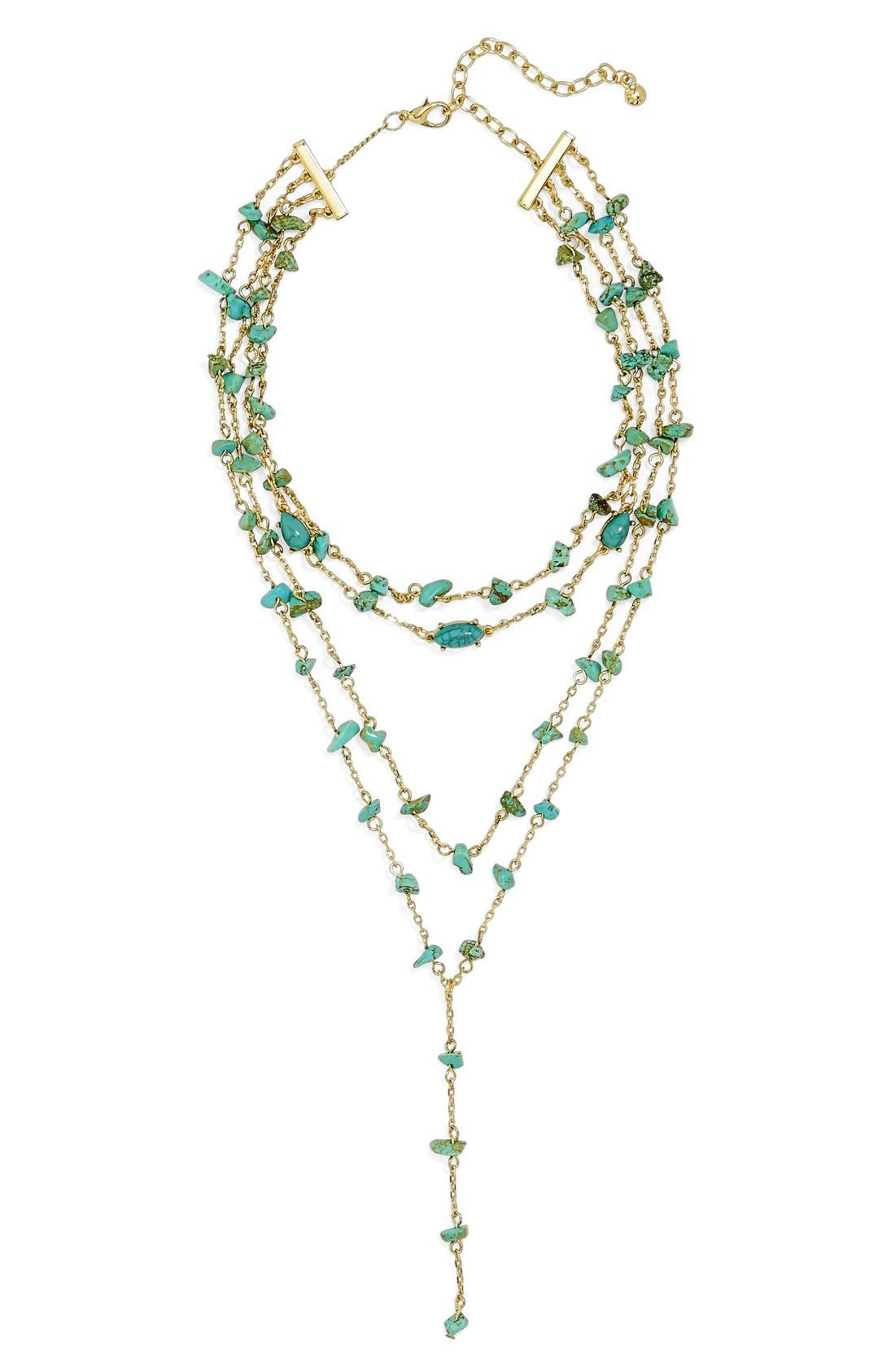 Alternate Image 1 Selected - BaubleBar Mitra Layered Y-Necklace