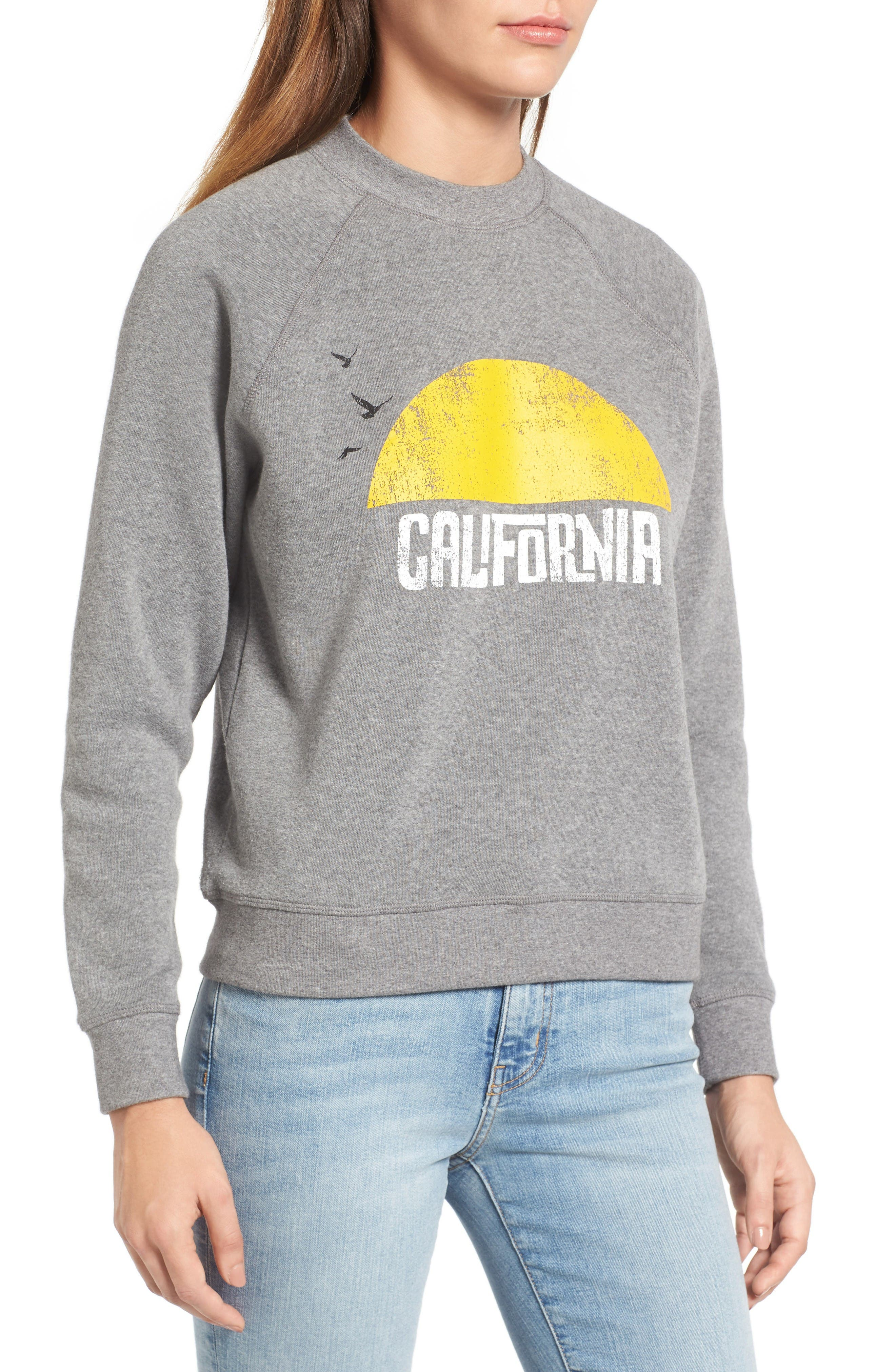 Alternate Image 4  - Rebecca Minkoff California Sunset Sweatshirt