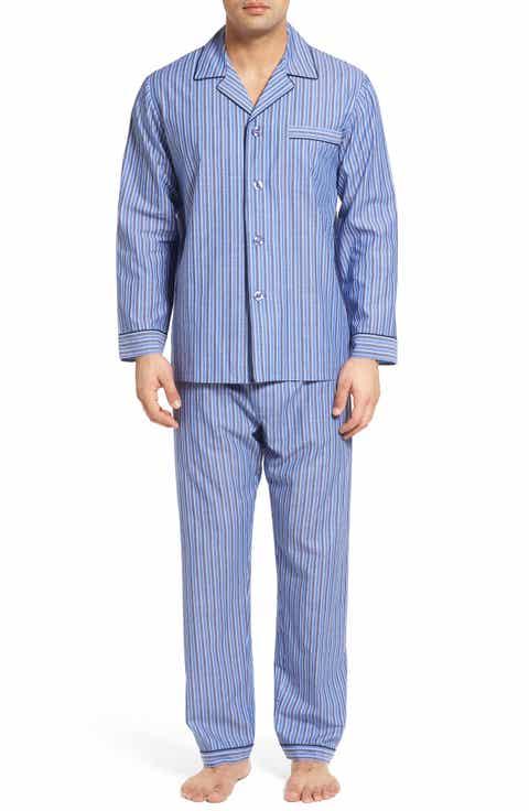 Majestic International Cole Easy Care Pajamas (Big   Tall)