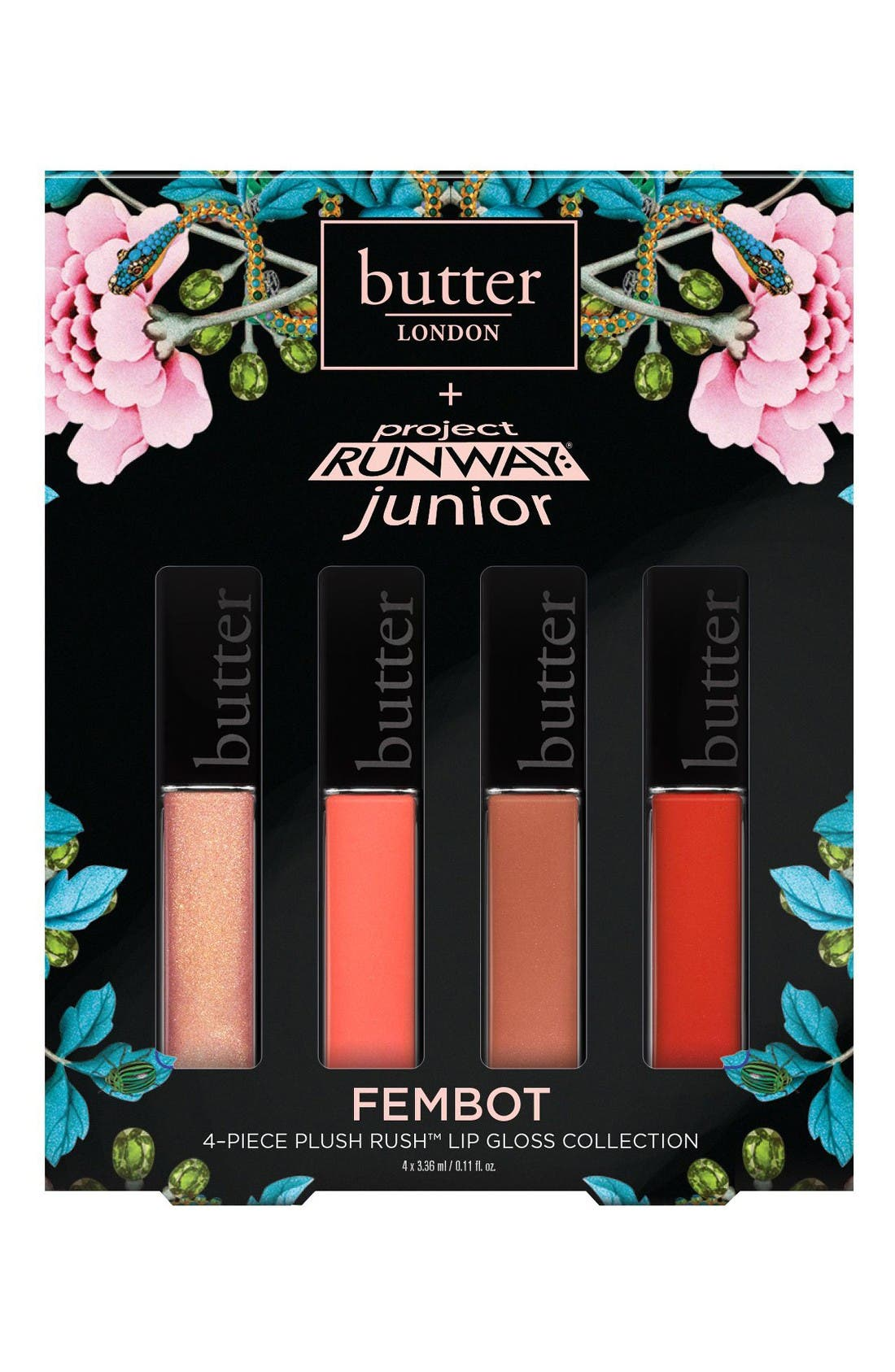 butter LONDON Project Runway® Junior Fembot Plush Rush™ Lip Gloss Set (Limited Edition) ($40 Value)