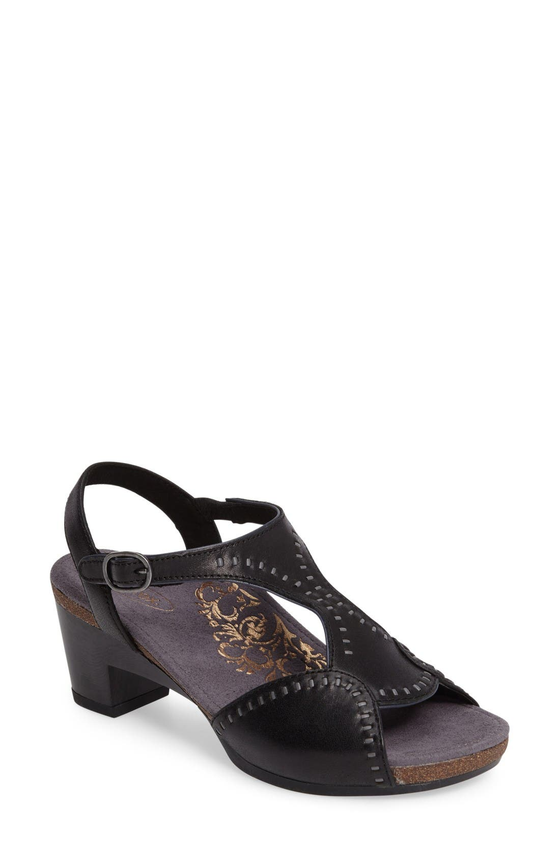 Aetrex Rosalie T-Strap Sandal (Women)