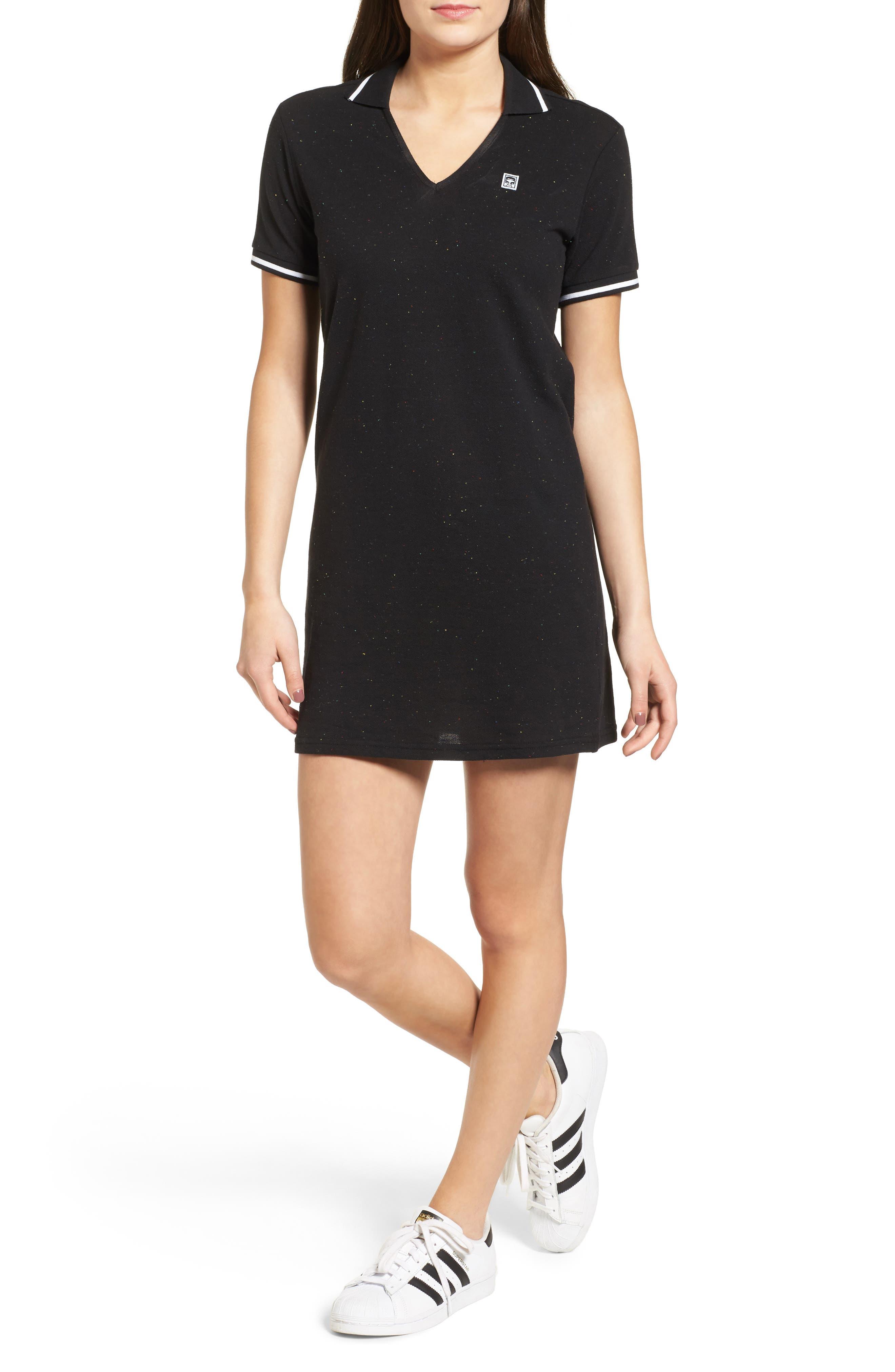 Main Image - Obey No. 89 Stretch Cotton Polo Dress