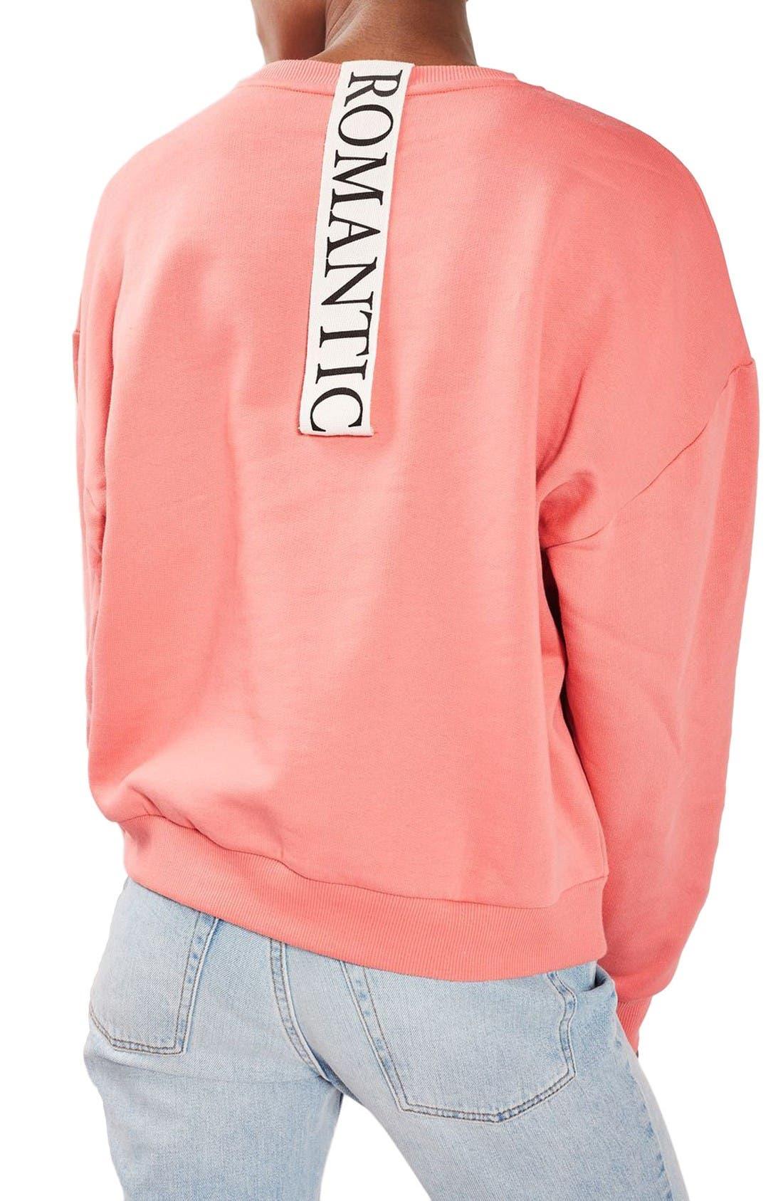Alternate Image 3  - Topshop Romance Sweatshirt