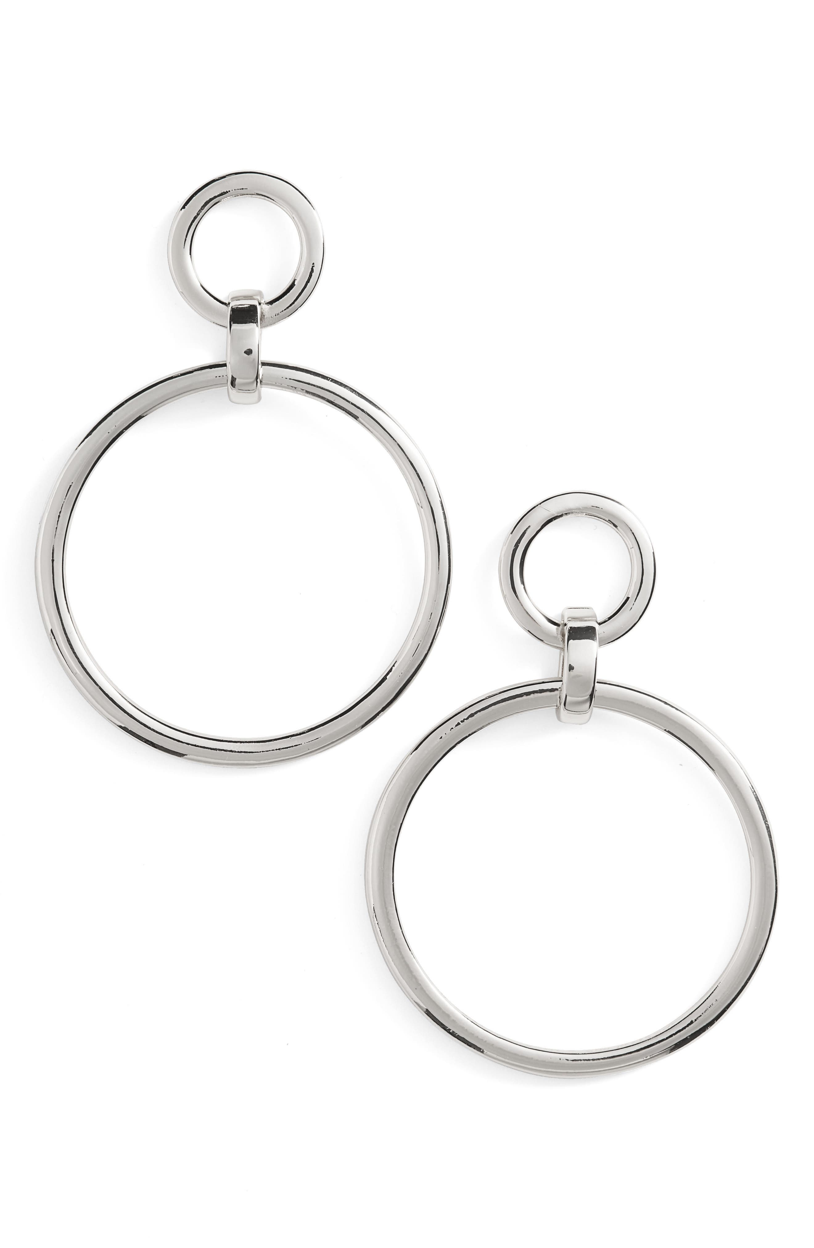 Nordstrom Frontal Hoop Earrings