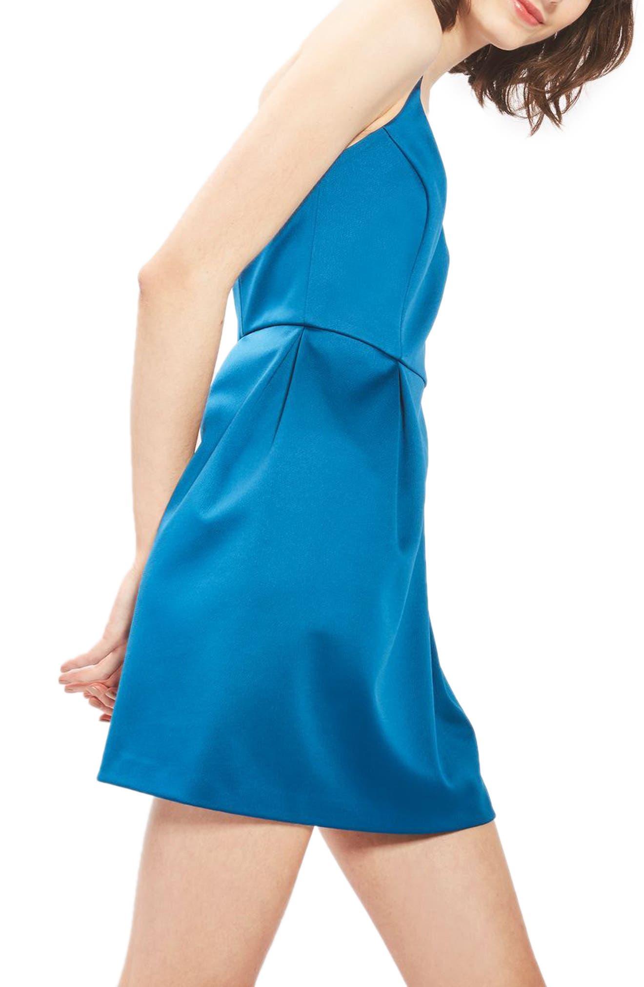 Alternate Image 3  - Topshop Fit & Flare Minidress