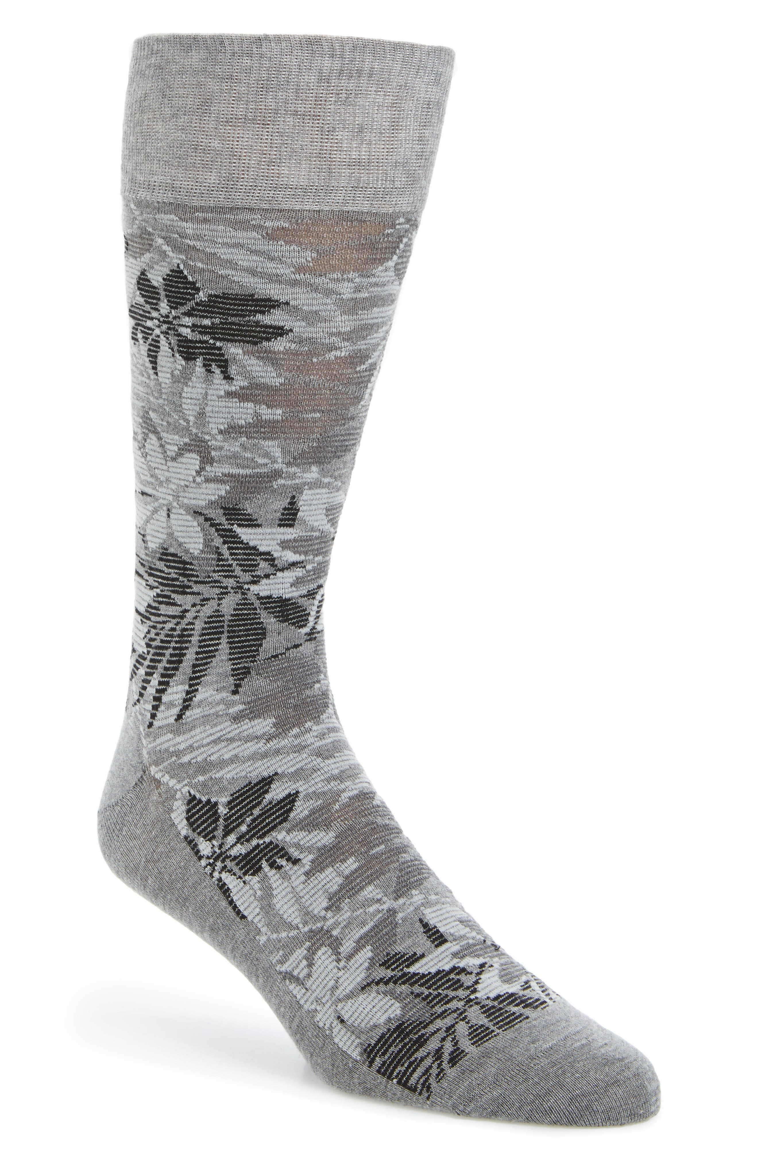 Cole Haan Floral Socks