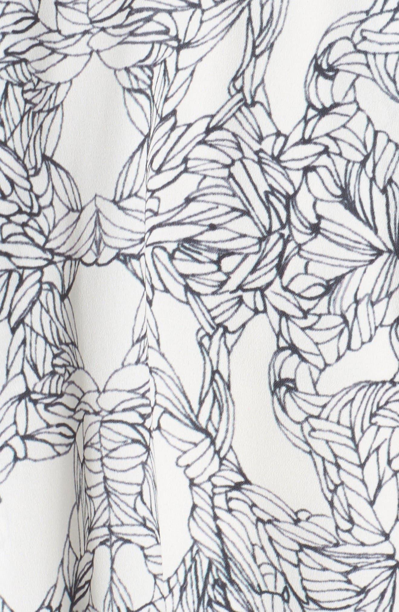 Alternate Image 6  - Adelyn Rae Ruffle Fit & Flare Dress