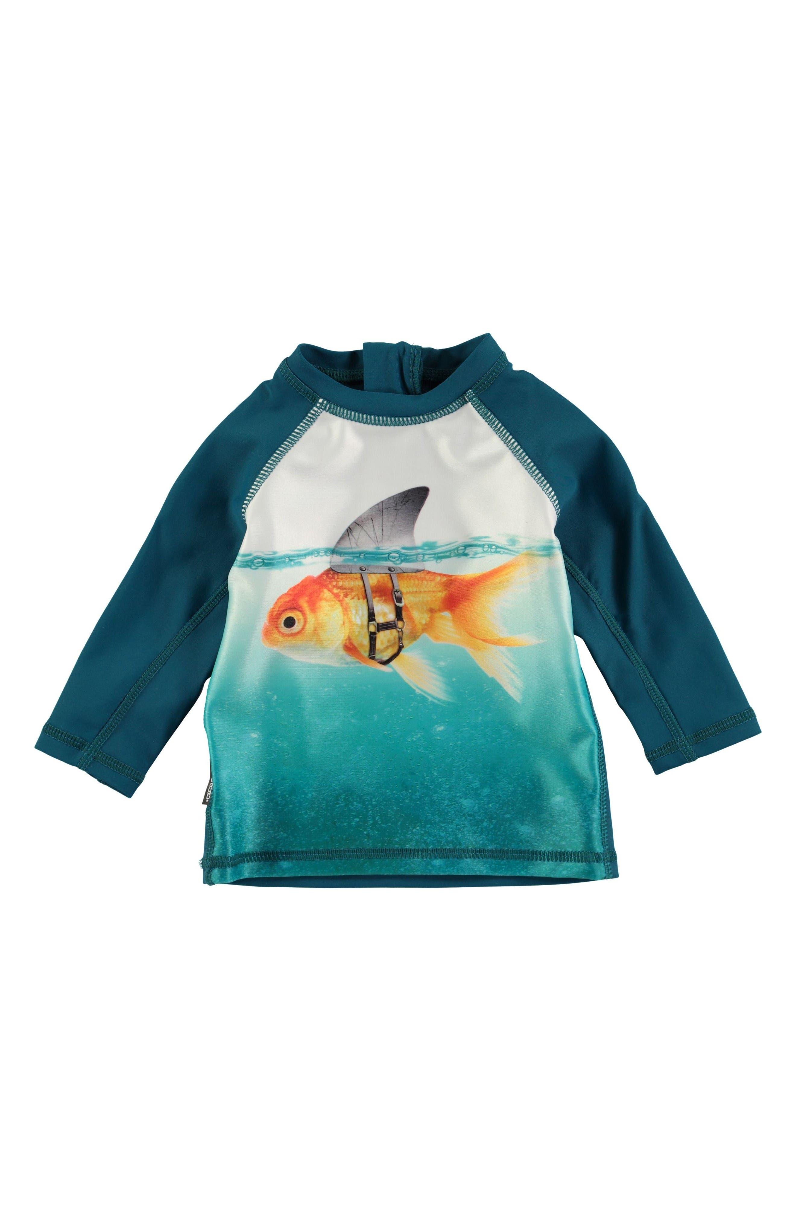 MOLO Nemo Stingray Print Rashguard