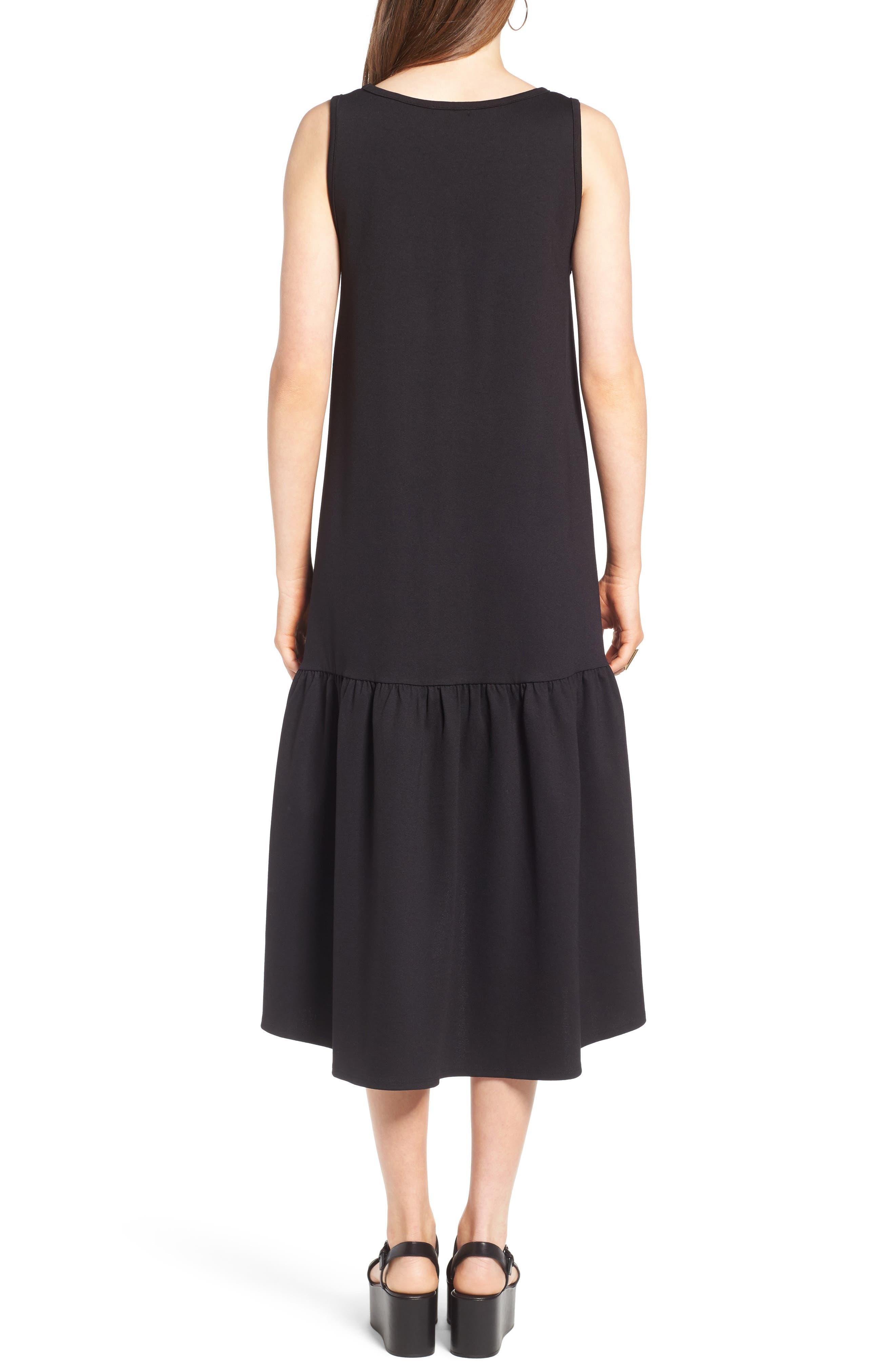 Alternate Image 2  - Leith Flounce Midi Dress