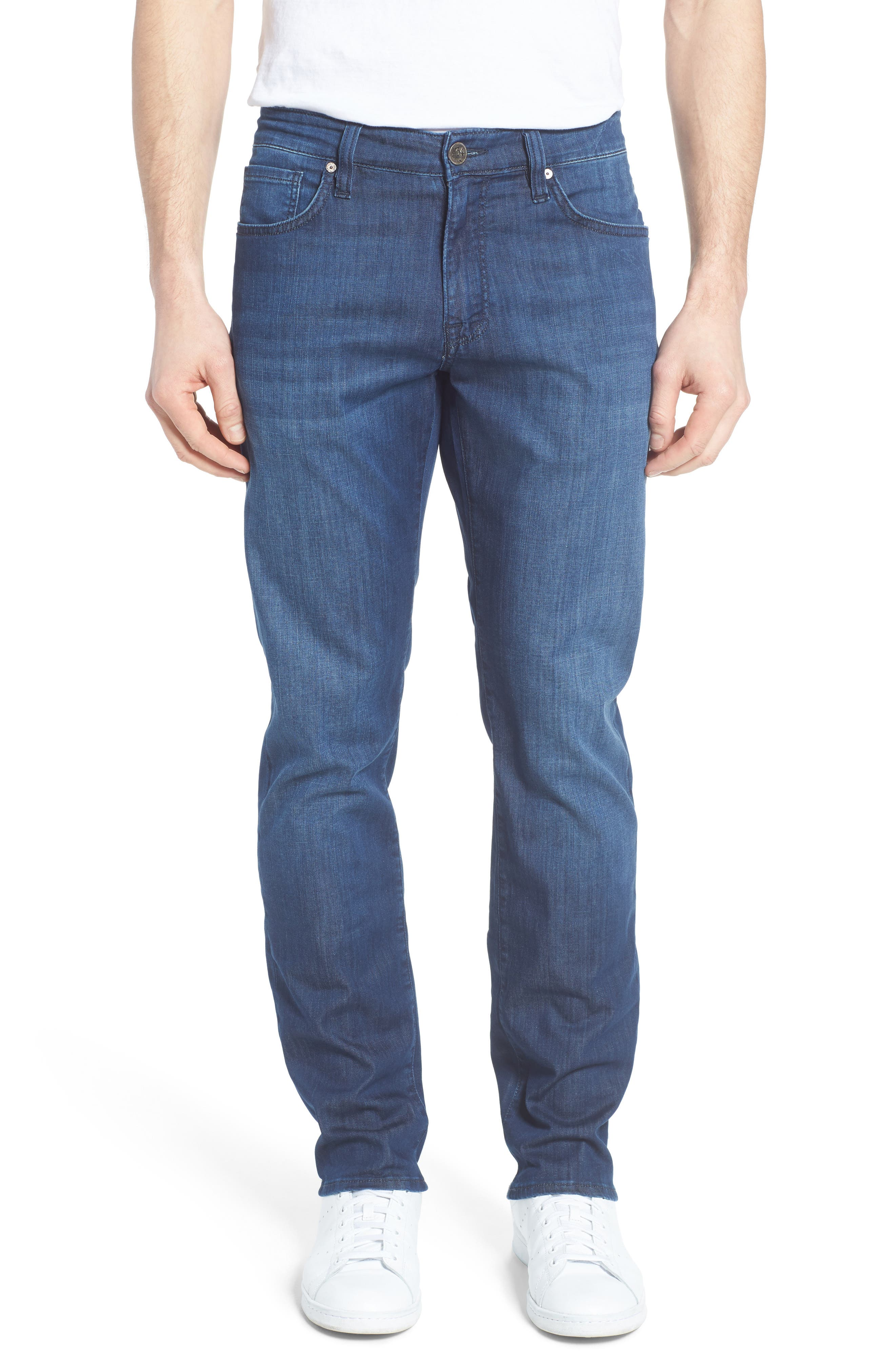 34 Heritage Courage Straight Leg Jeans (Mid Summer)