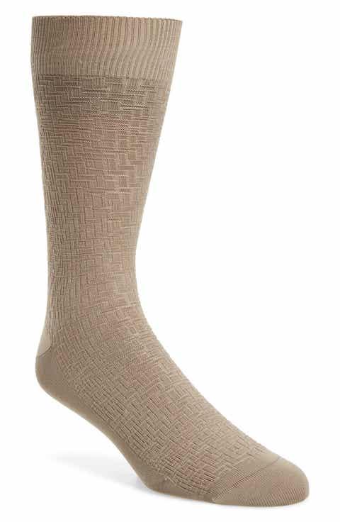 Cole Haan Distorted Texture Crew Socks (3 for $30)
