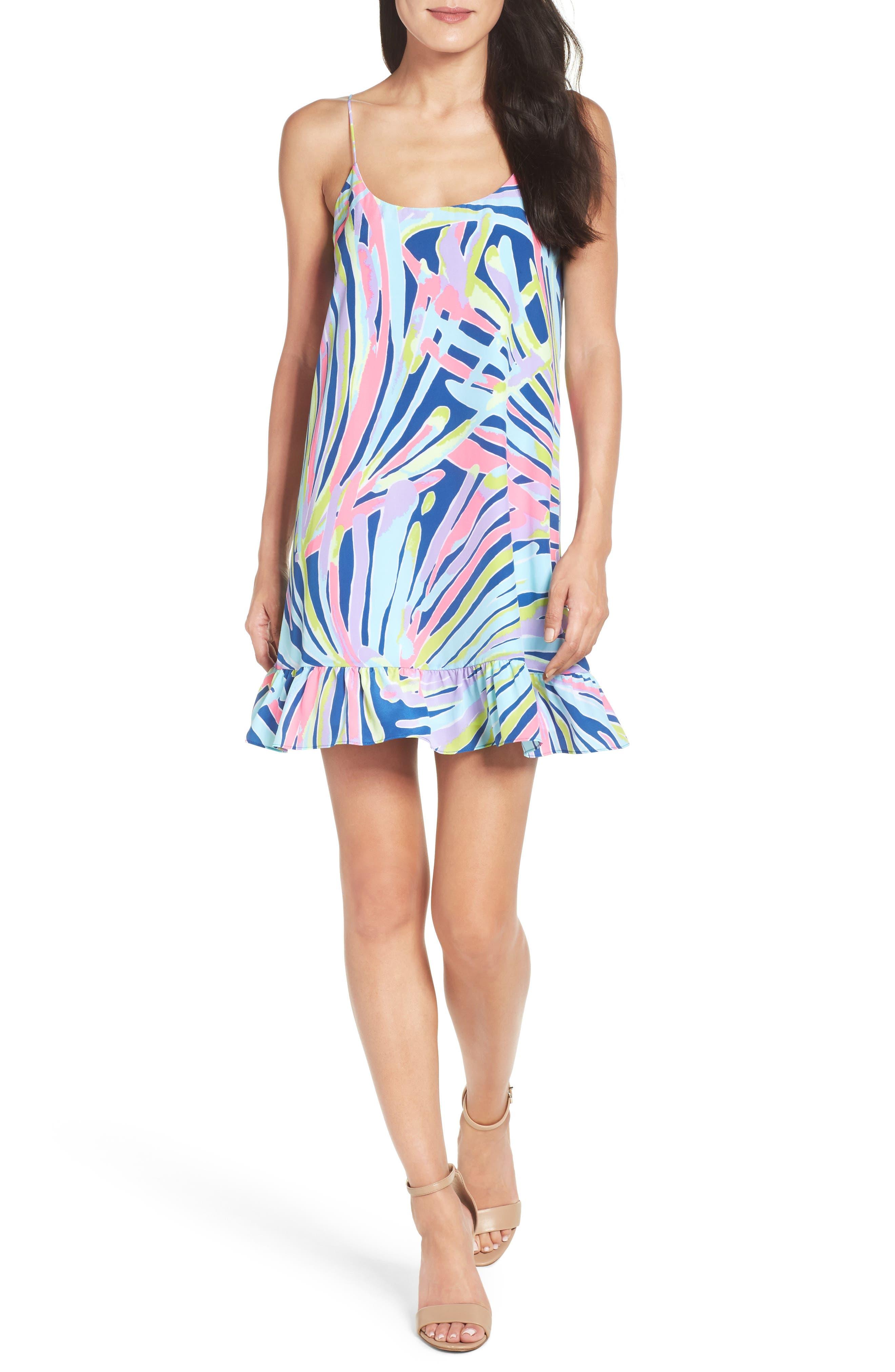 Alternate Image 1 Selected - Lilly Pulitzer® Zanna Silk Slipdress