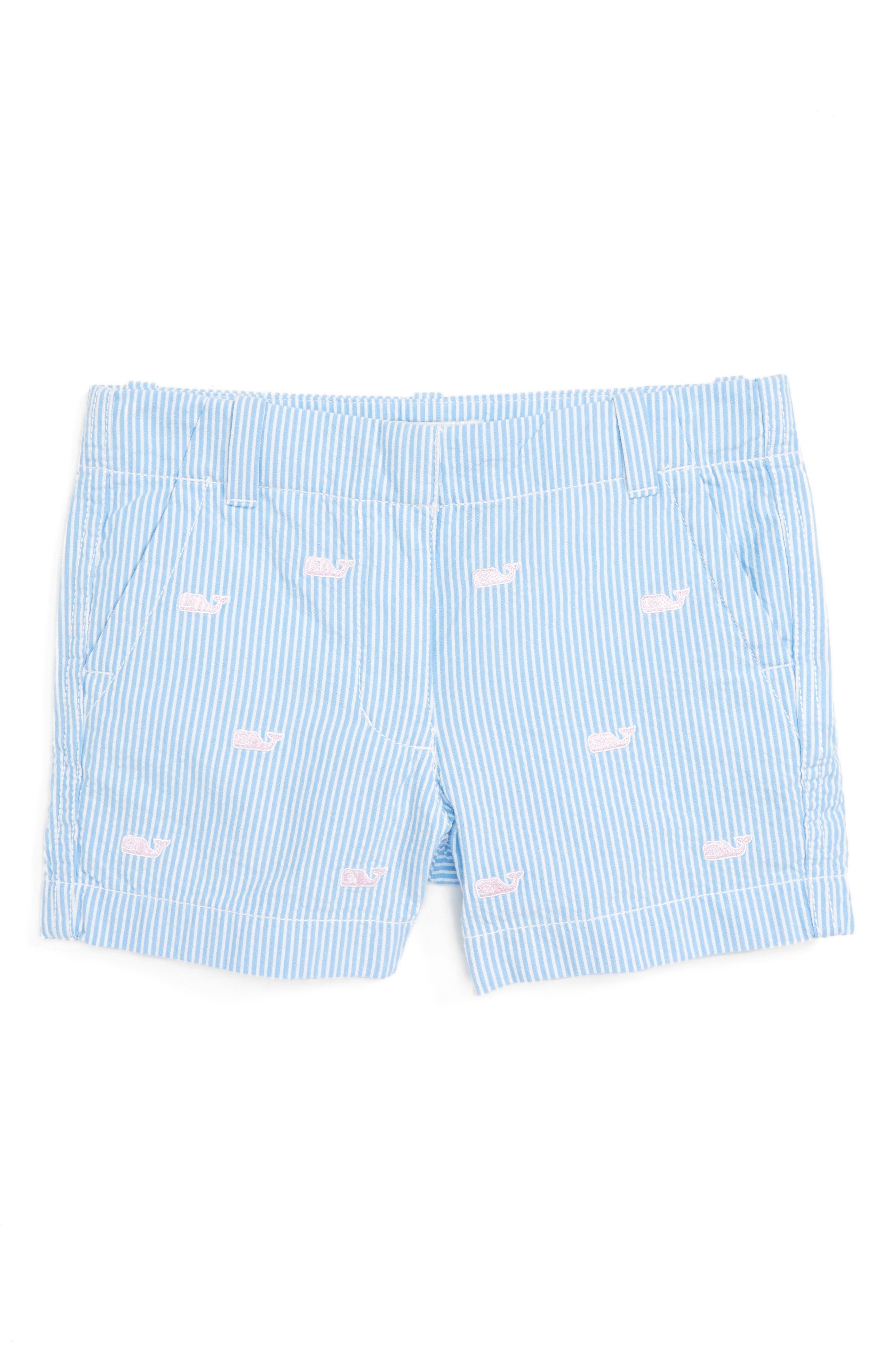 Vineyard Vines Whale Boulevard Shorts (Toddler Girls, Little Girls & Big Girls)