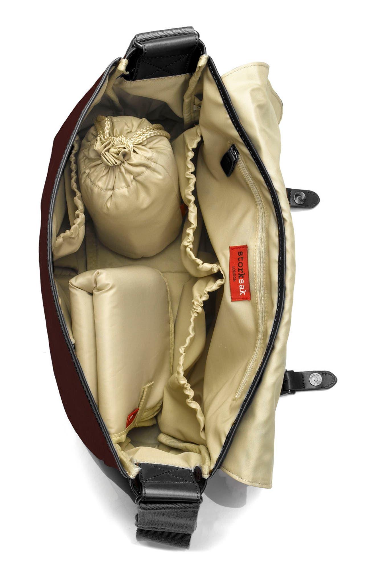 Alternate Image 2  - Storksak 'Aubrey' Diaper Bag