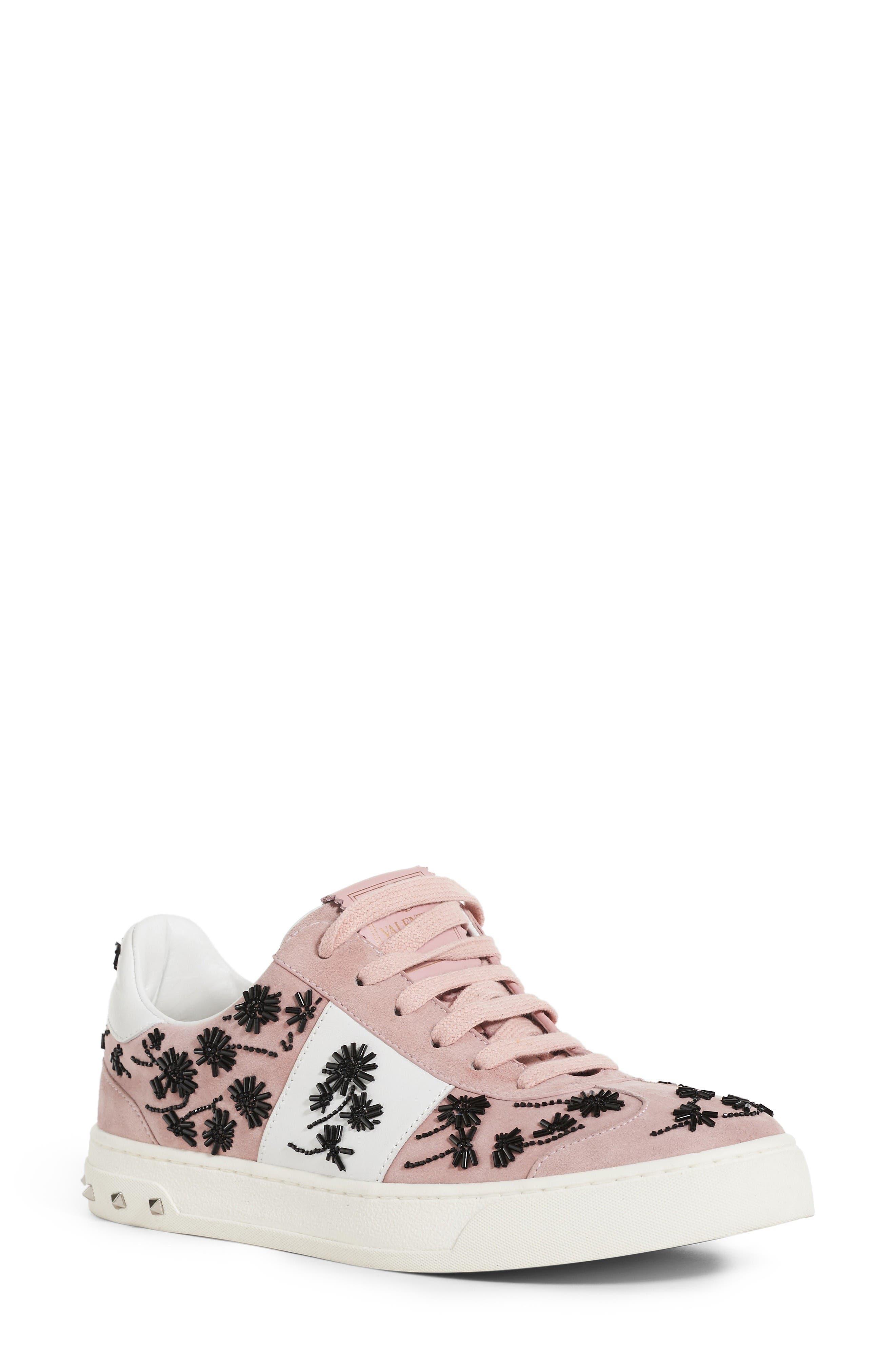 Valentino Fly Rockstud Sneaker (Women)