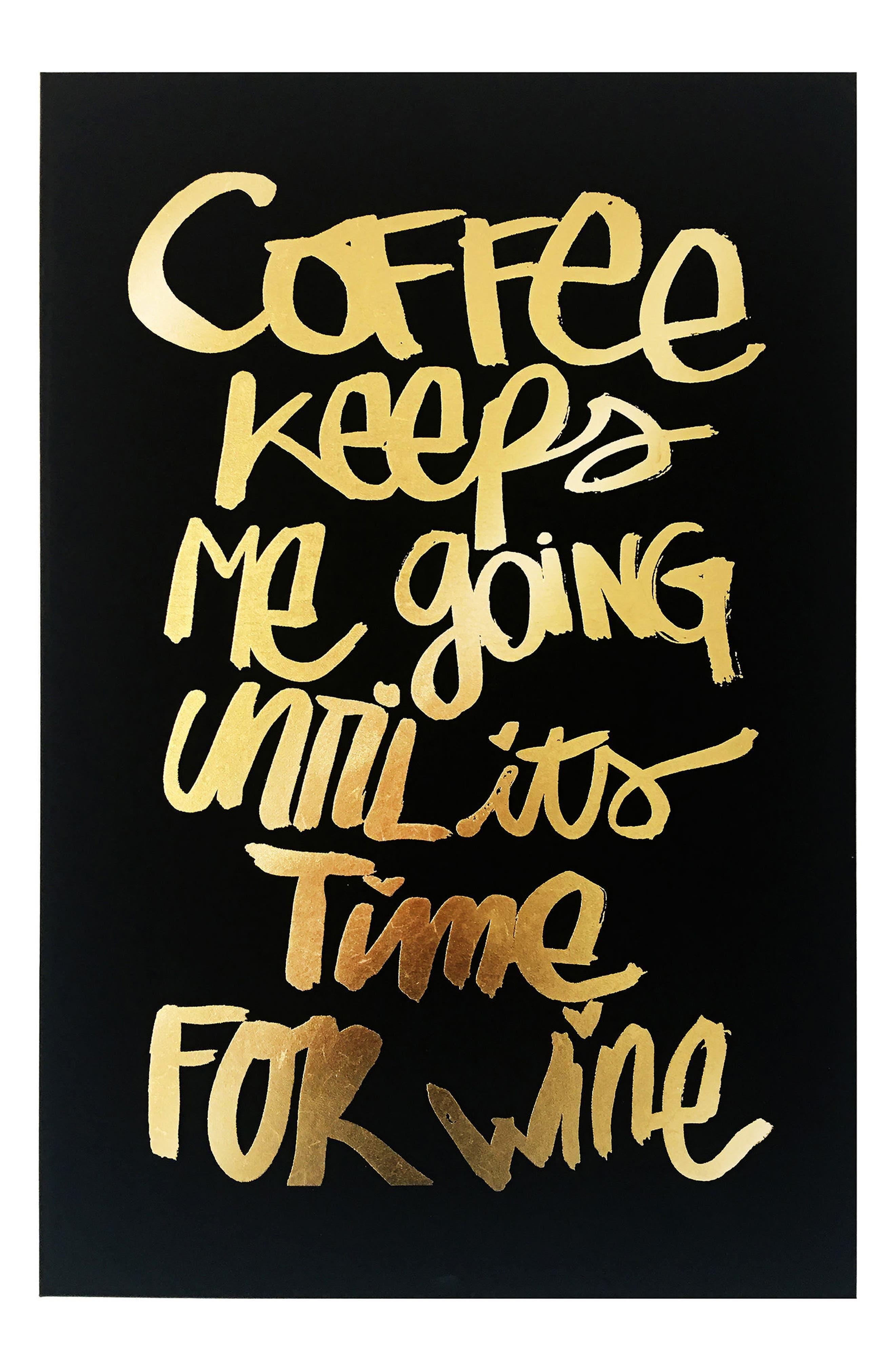 Main Image - Wynwood Coffee & Wine Canvas Wall Art