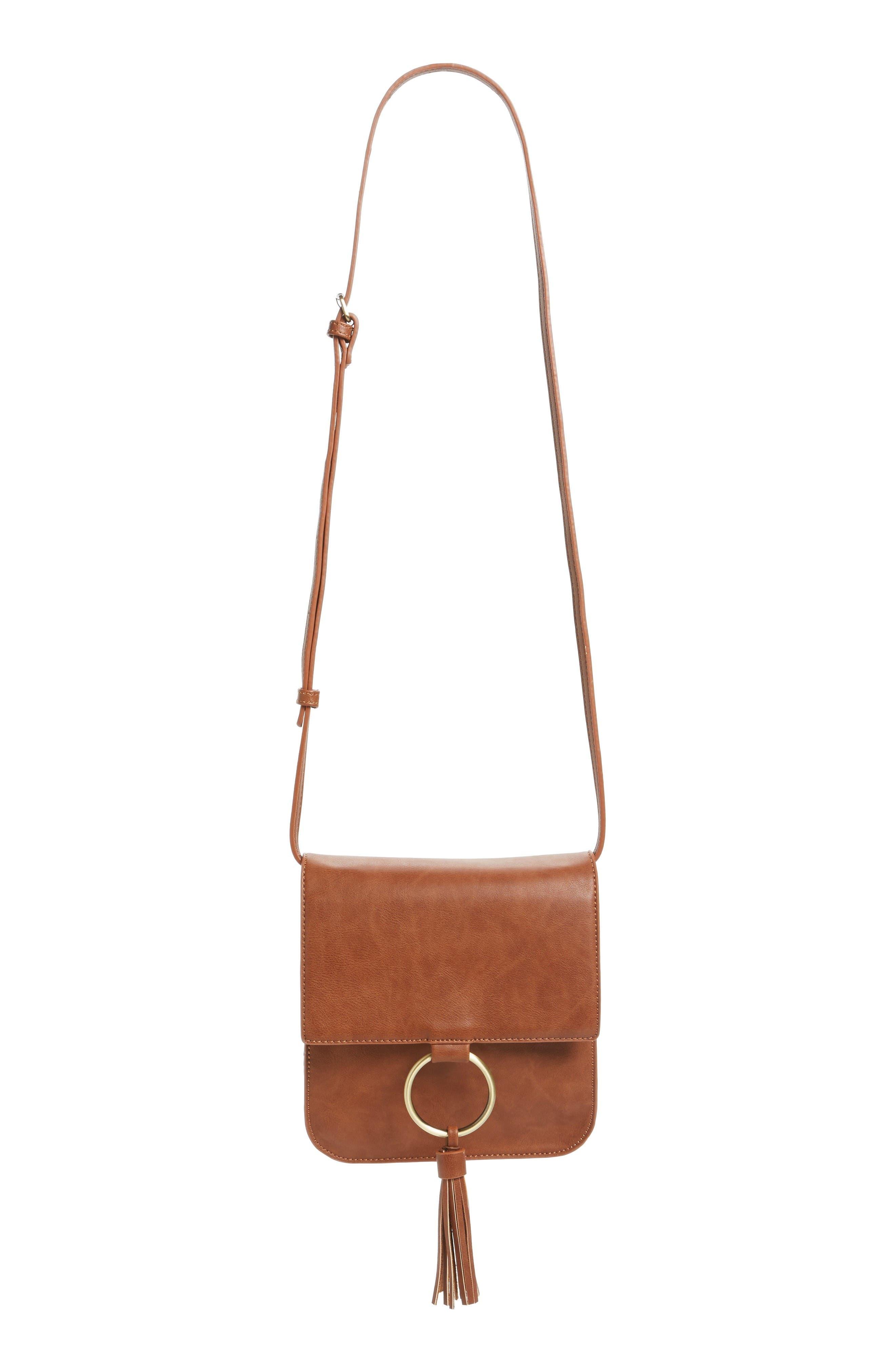 Main Image - Sole Society Square Crossbody Bag