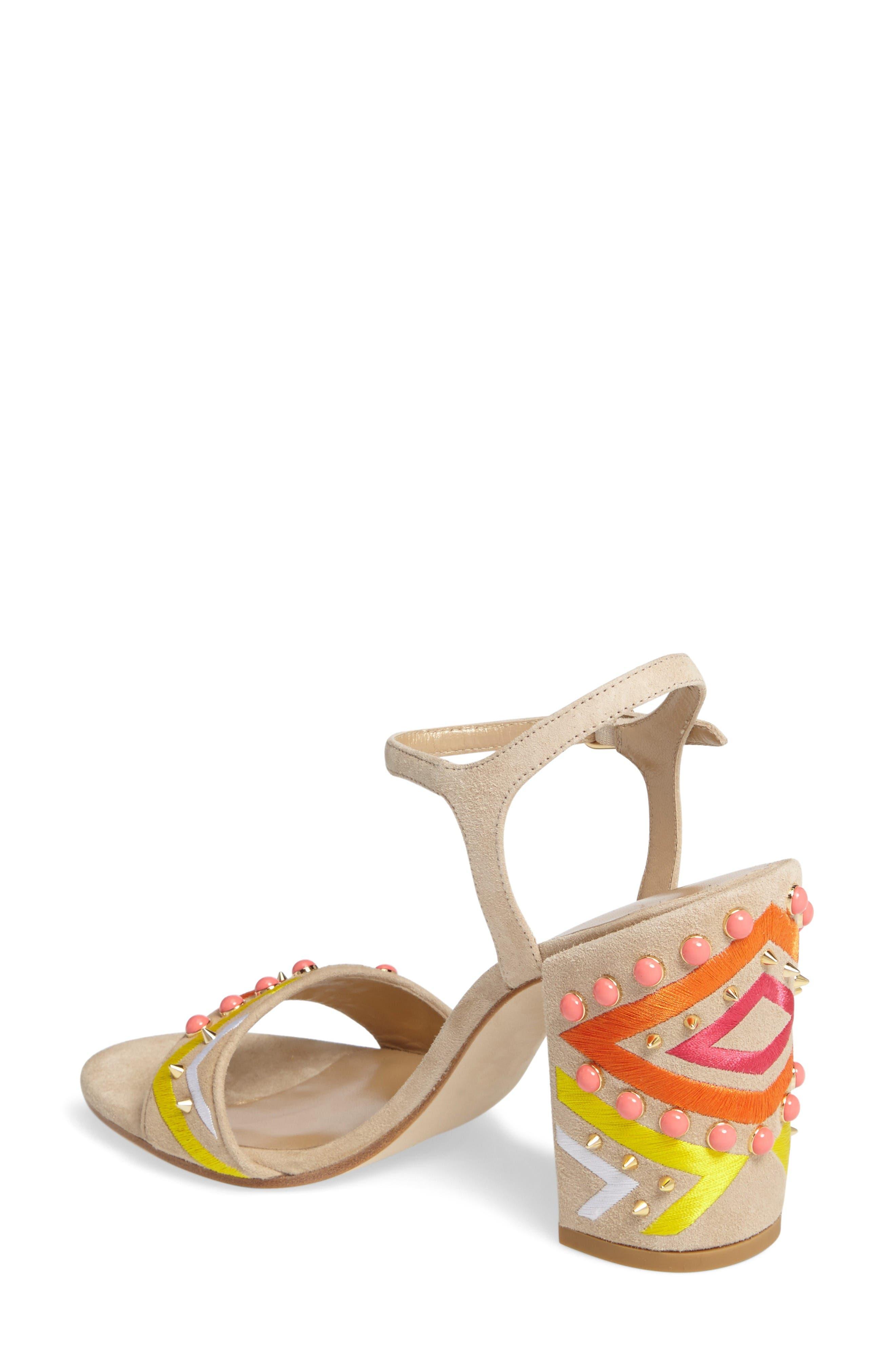 Alternate Image 2  - Stuart Weitzman Both Embellished Sandal (Women)