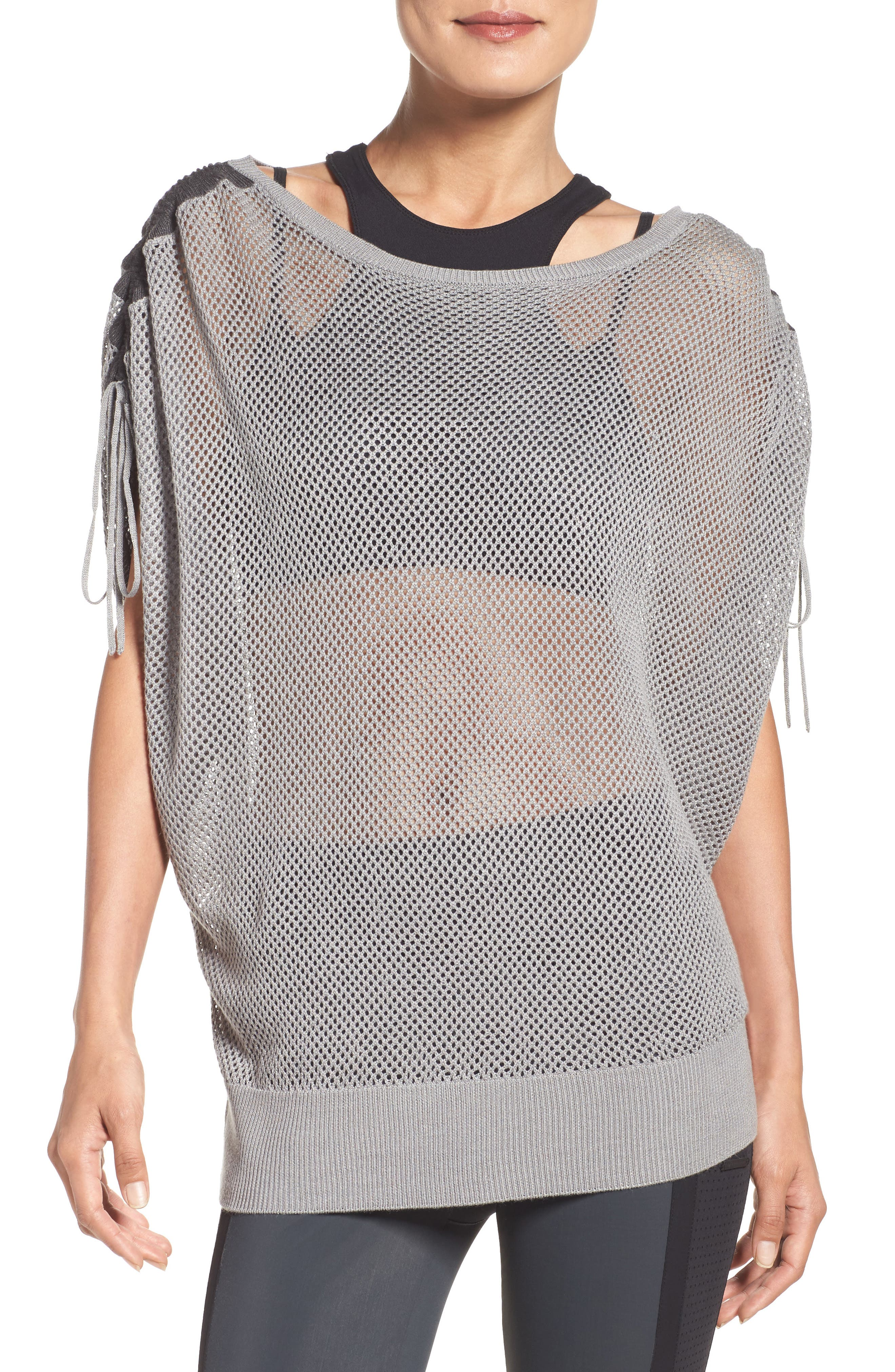 Blanc Noir Sea Breeze Mesh Top