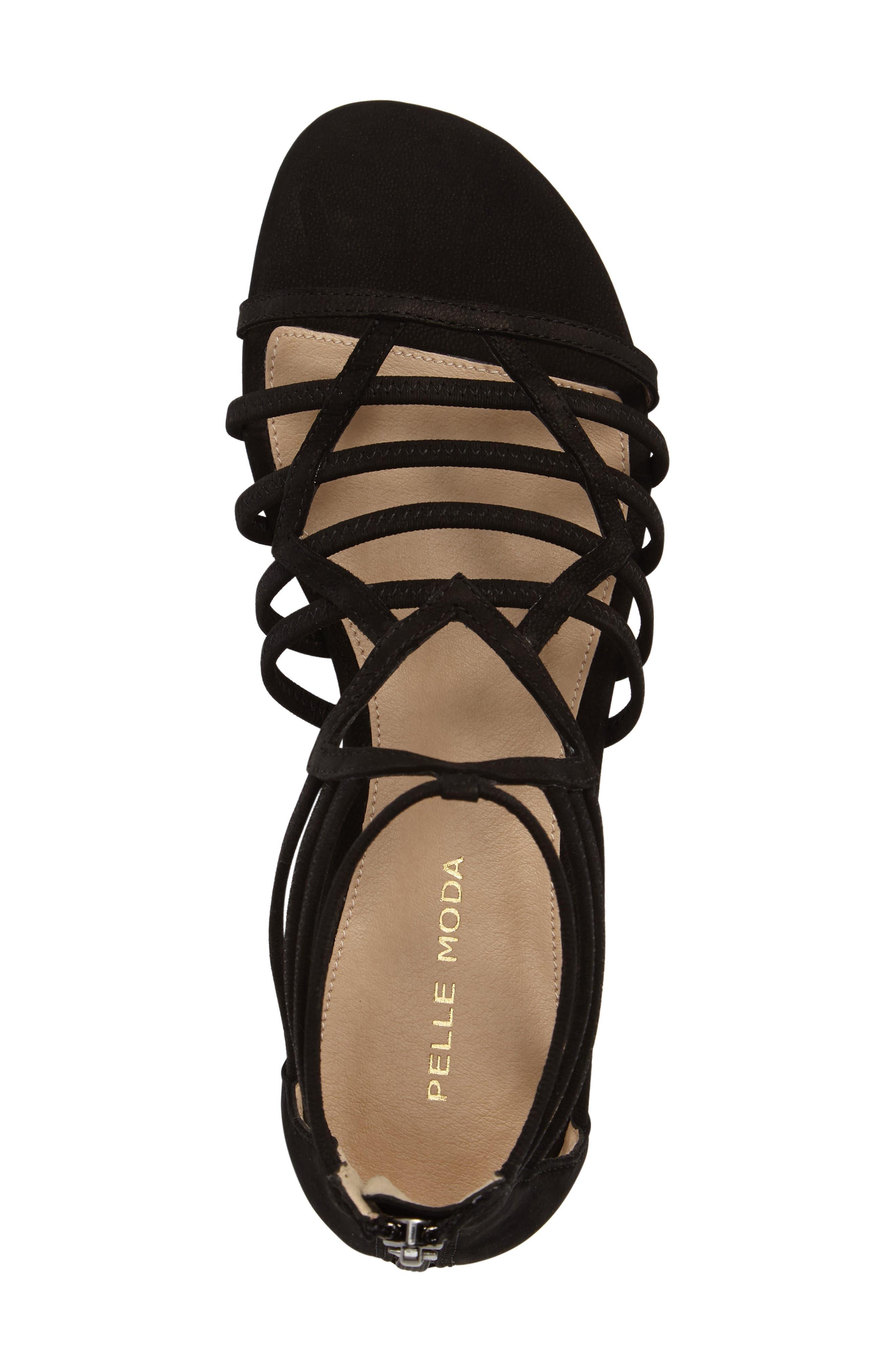 Alternate Image 5  - Pelle Moda Brazil Strappy Sandal (Women)
