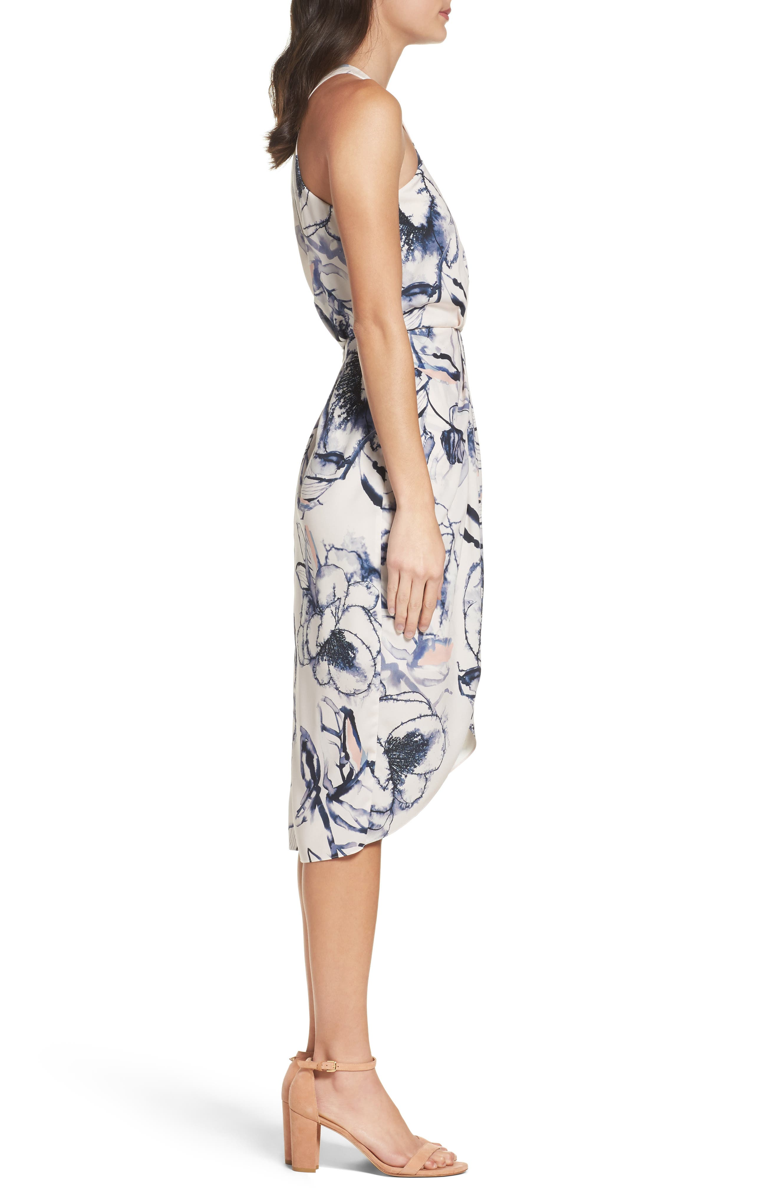 Alternate Image 3  - Chelsea28 Print Midi Dress